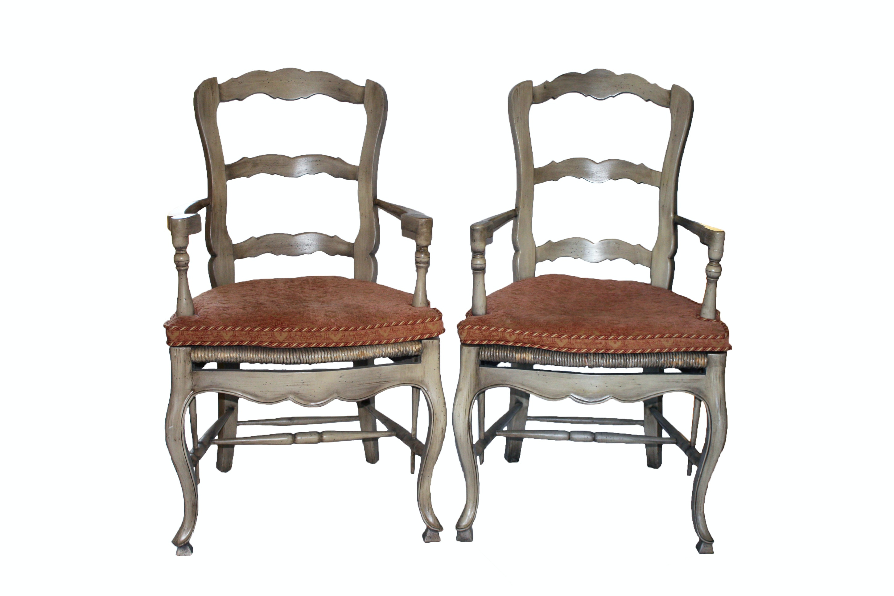 French Provincial Style Fauteuils
