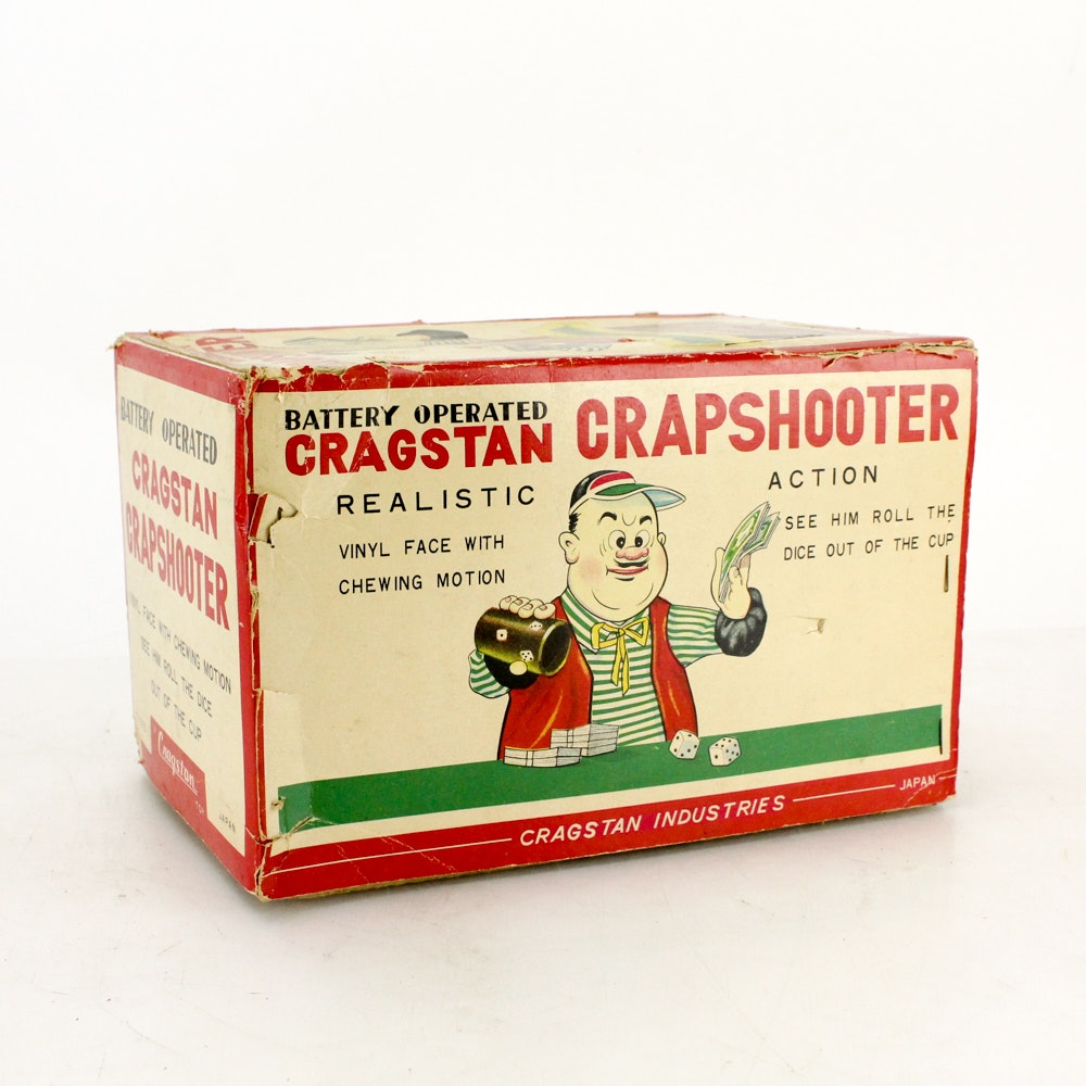 "Cragstan ""Crapshooter"" Electron Toy in Original Box"