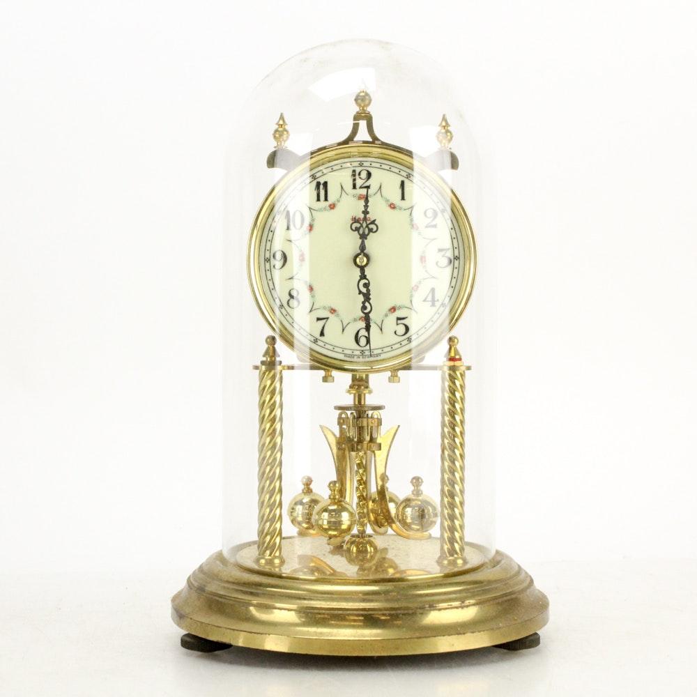 Mid-Century Kundo Original Blackforest 400 Day Clock