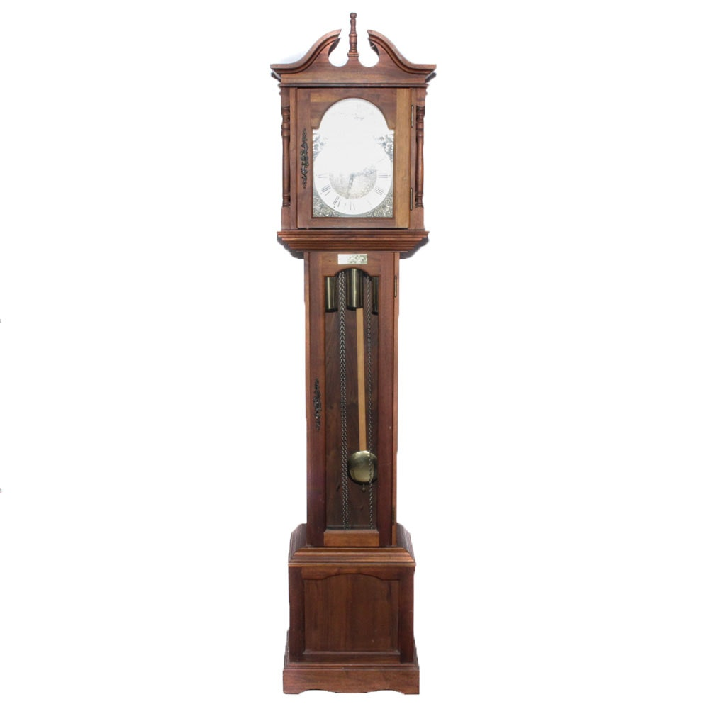 Emperor German Walnut Grandmother Clock