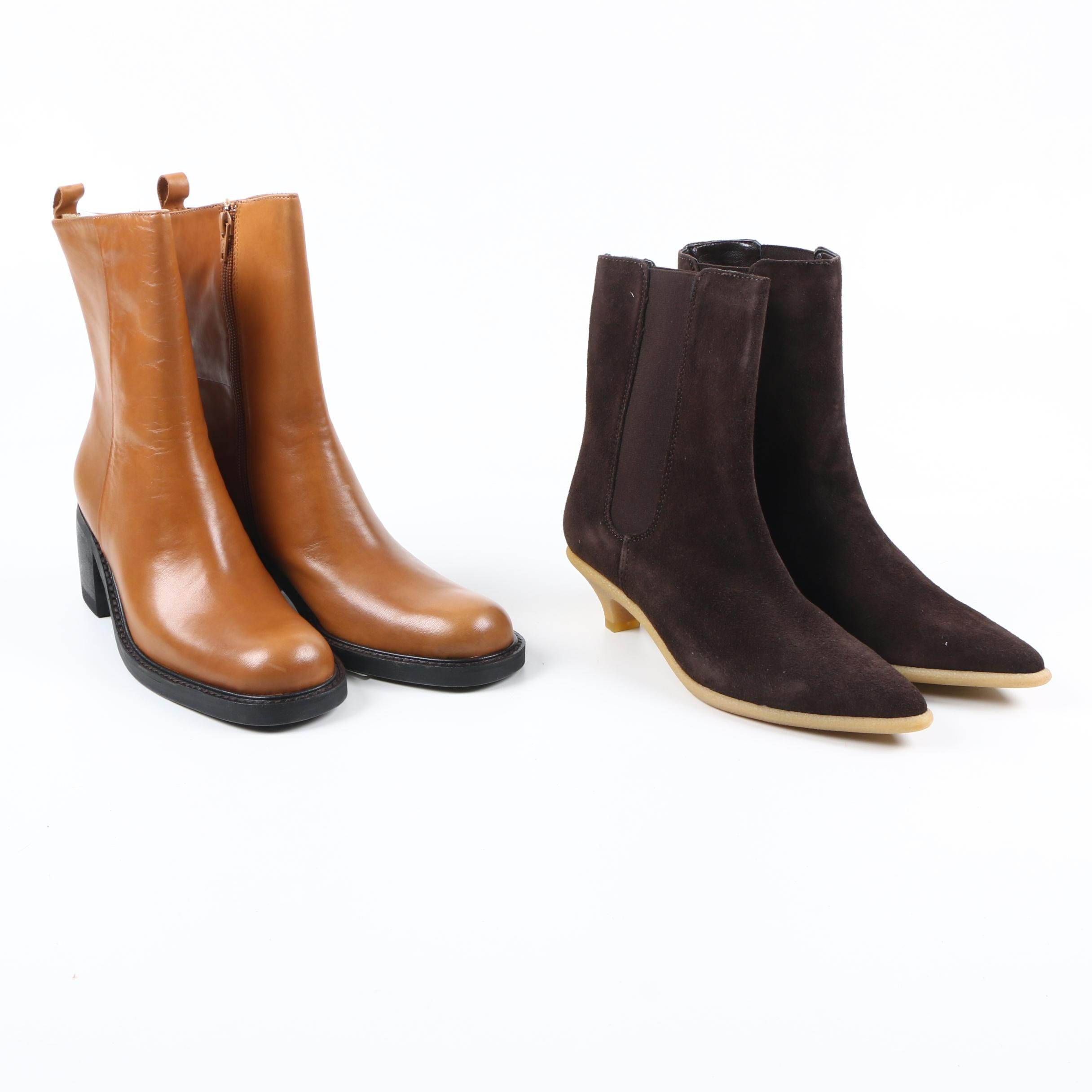 Women's High Heeled Boots Featuring Michael Kors and Kenneth Cole