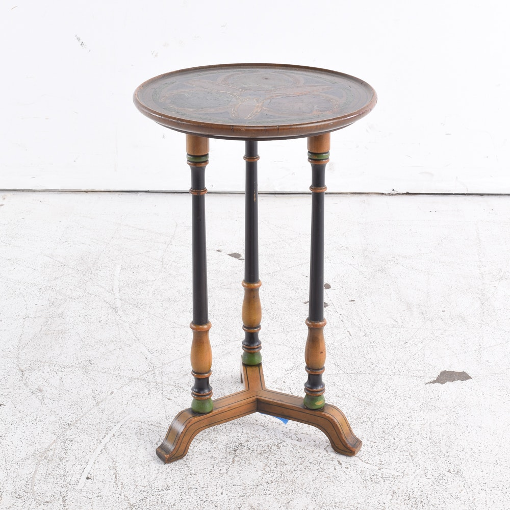 Vintage Painted Side Table by Imperial