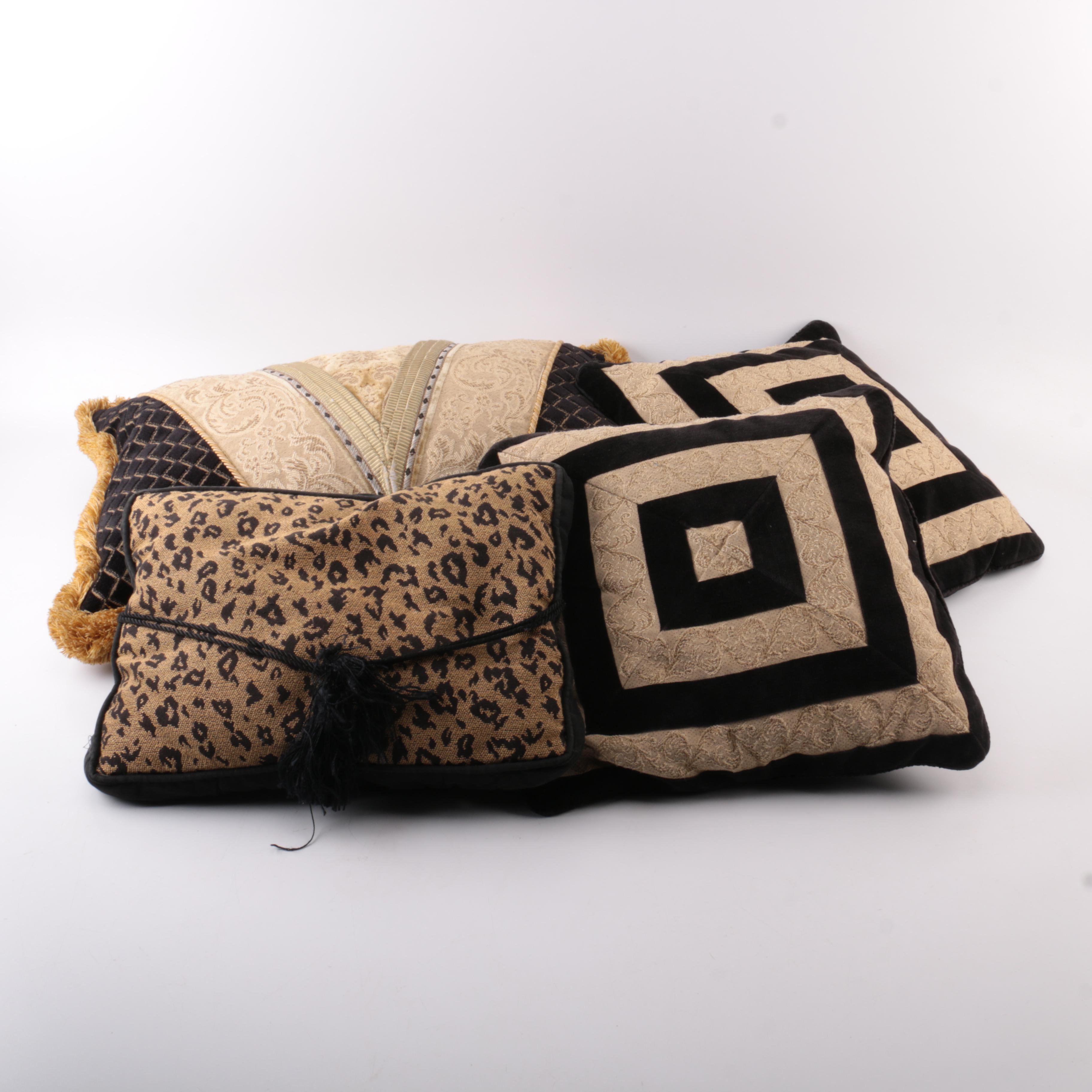 Assortment of Throw Pillows