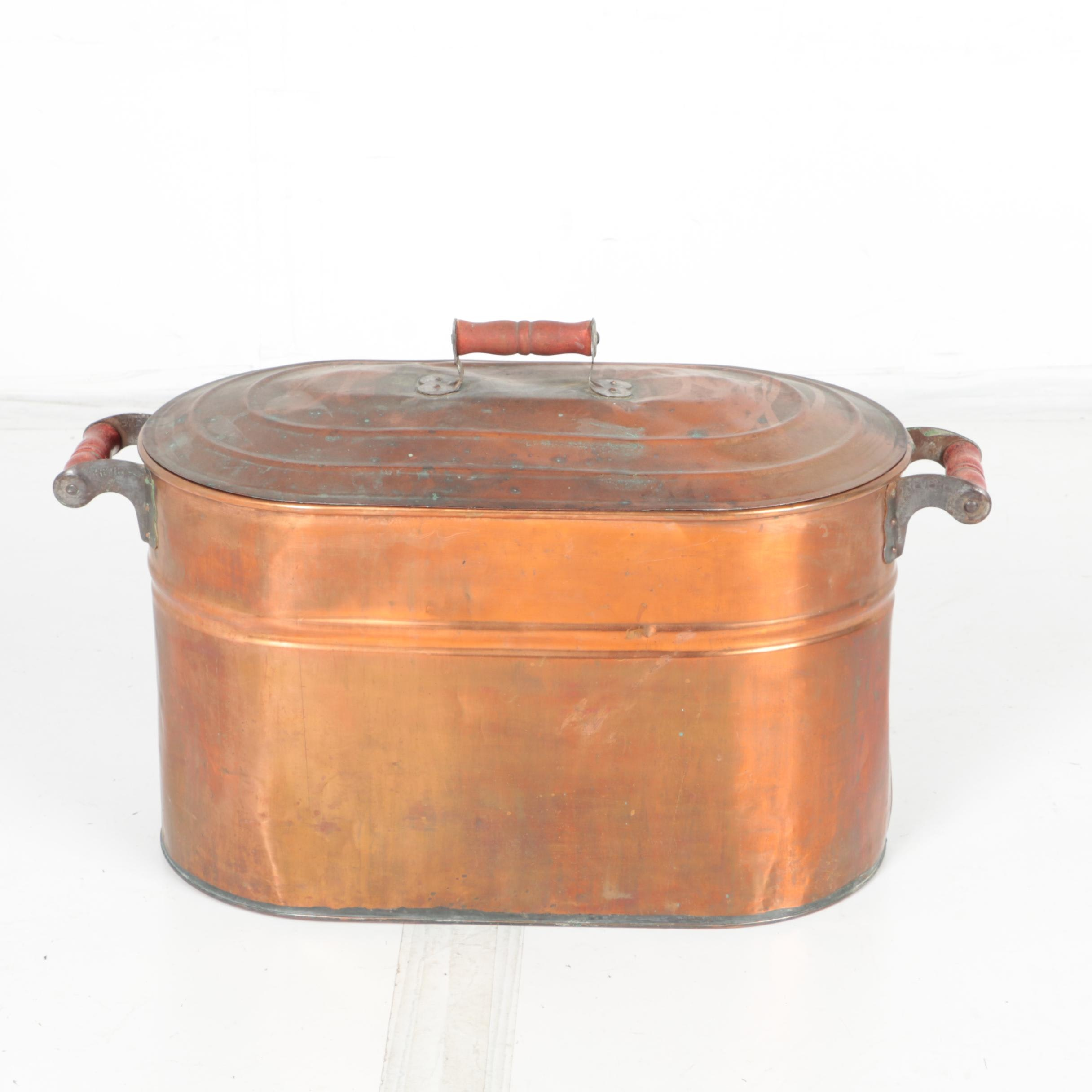 Revere Copper Boiler with Lid