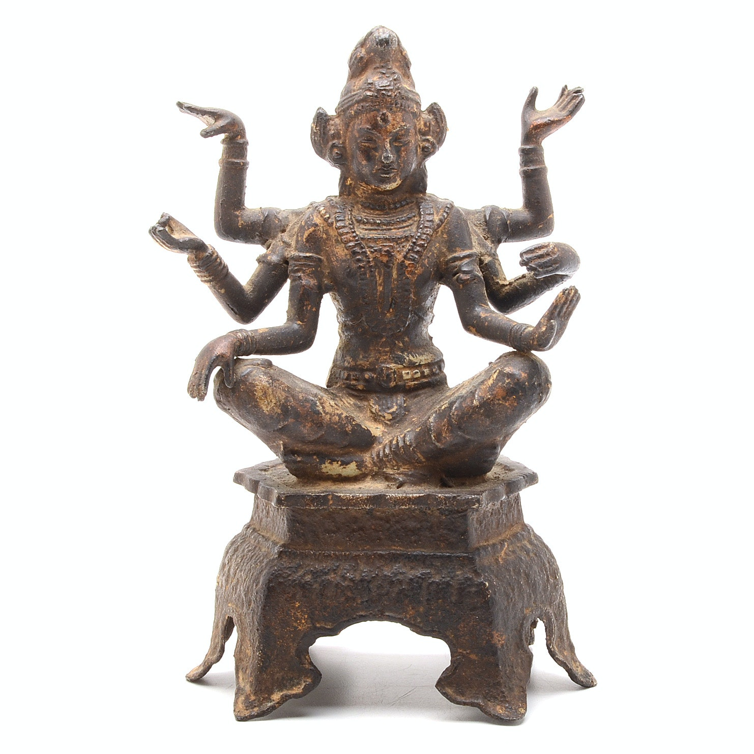 East Asian Seated Statue