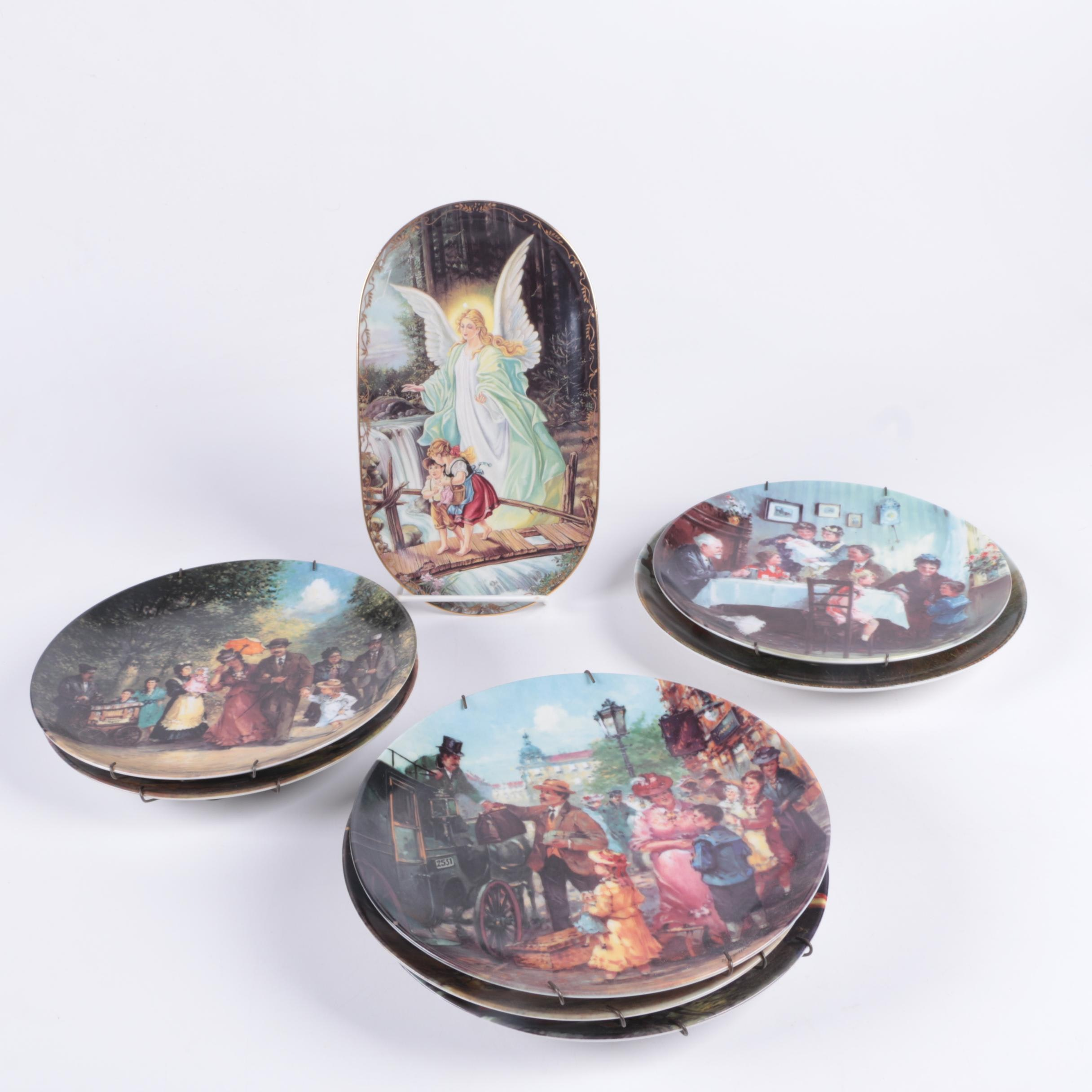 Decorative Porcelain Collectors' Plates