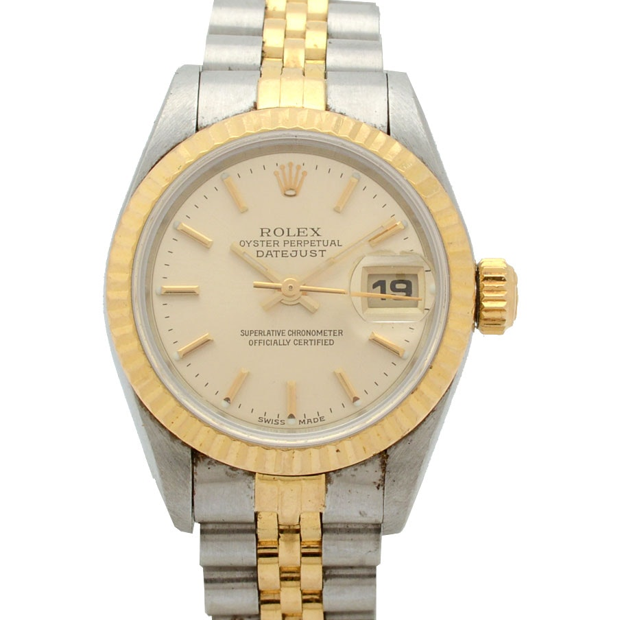 Rolex Two-Tone Oyster Perpetual Datejust Wristwatch