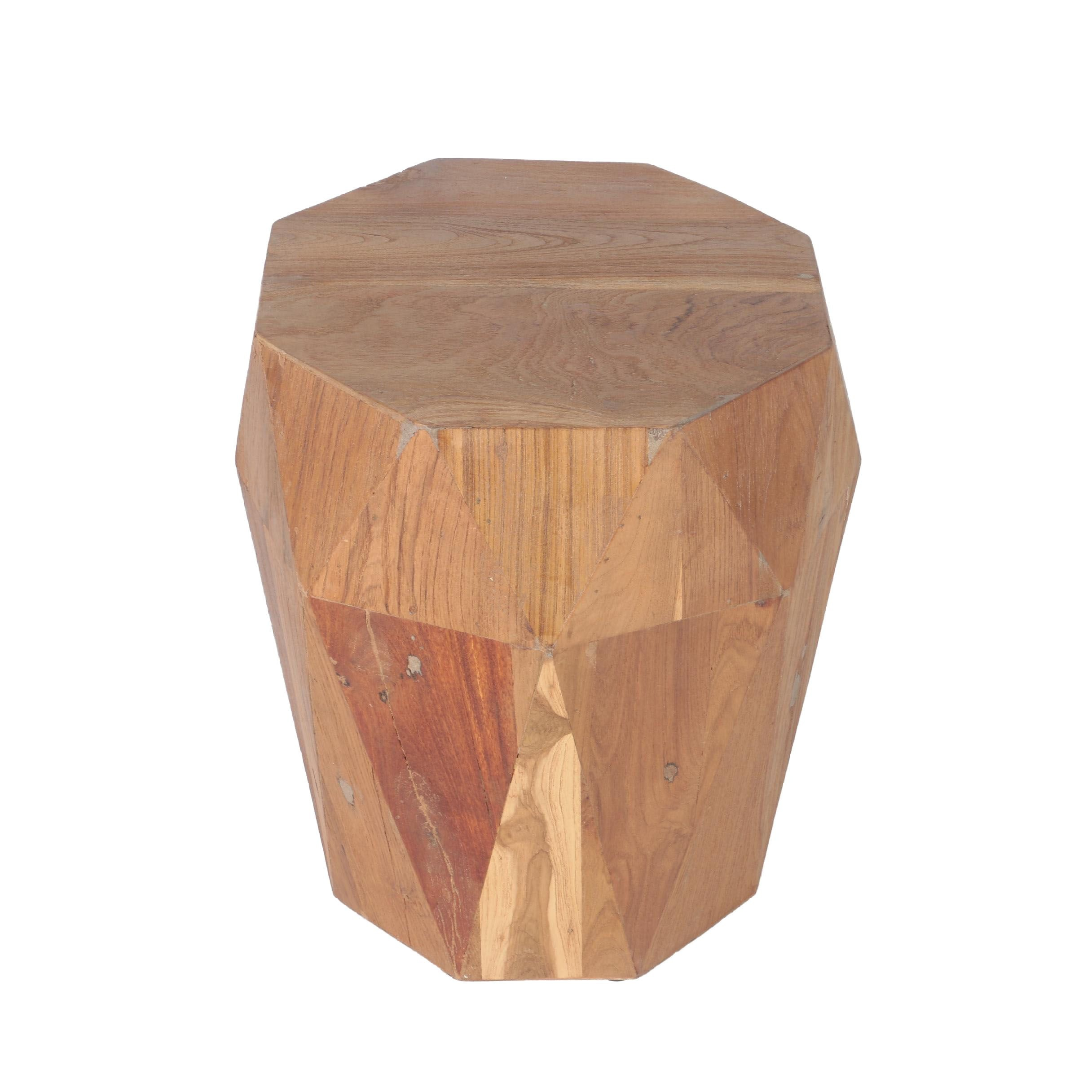 Faceted Occasional Table