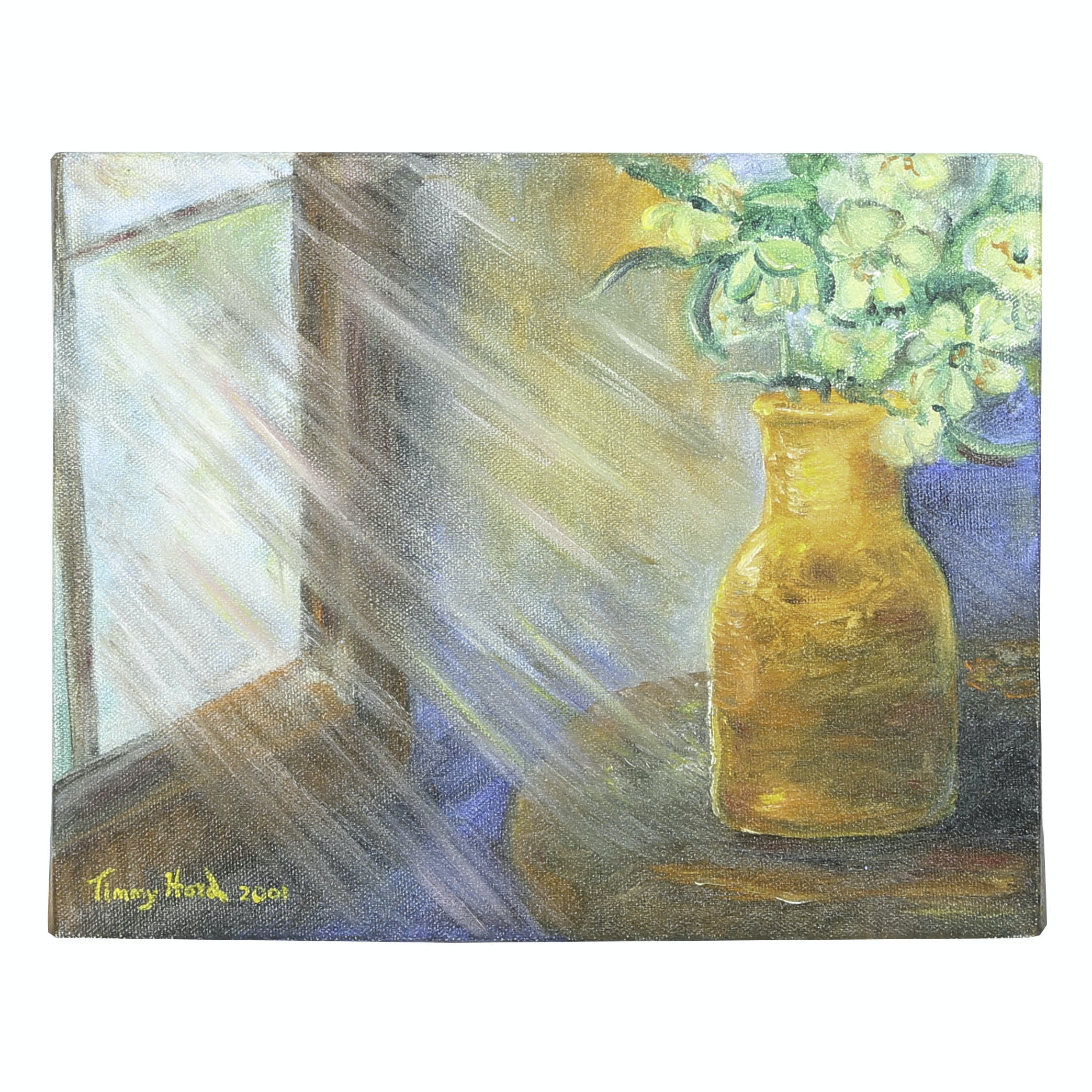 """Timmy Hord Oil Painting on Canvas """"Light Shine"""""""