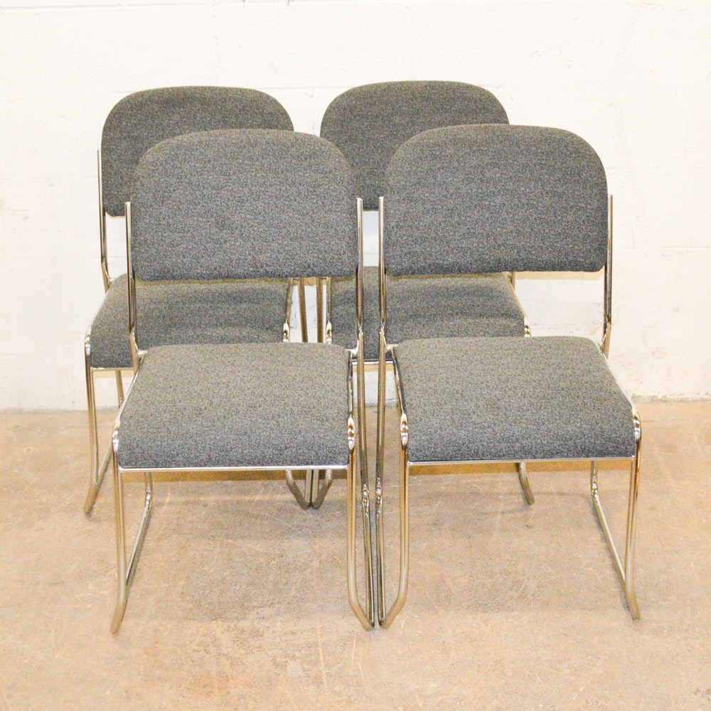 Set of Contemporary Dining Chairs by Swinton Avenue Trading