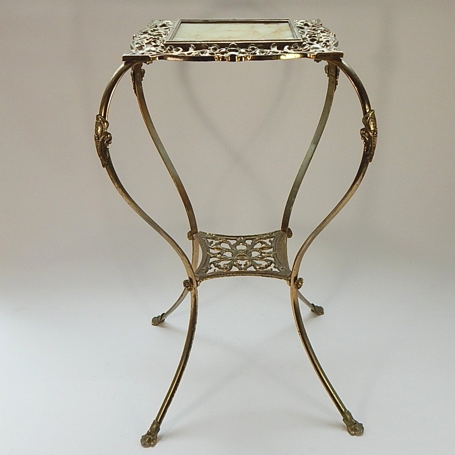 Decorative Brass Plant Stand