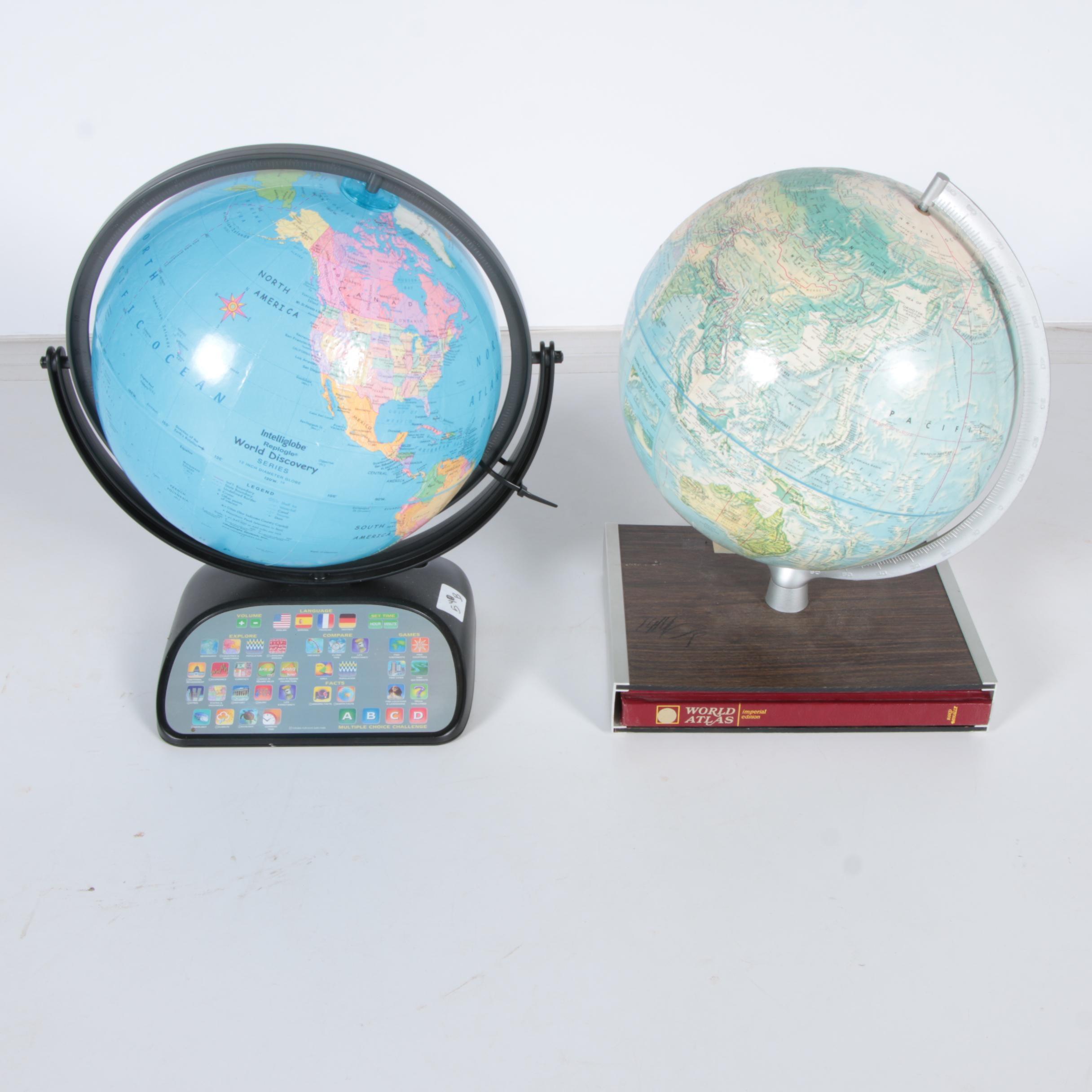 Pair of Globes