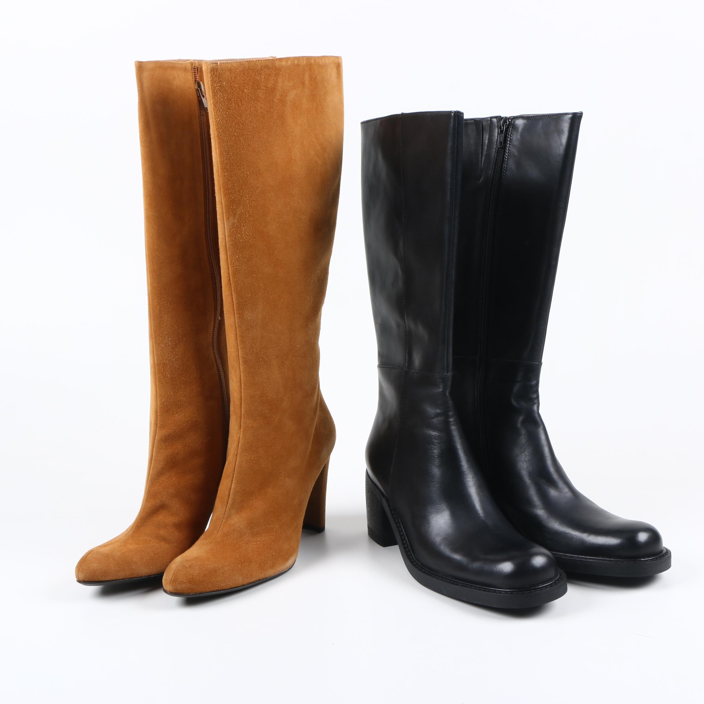 Kenneth Cole and Stuart Weitzman Boots
