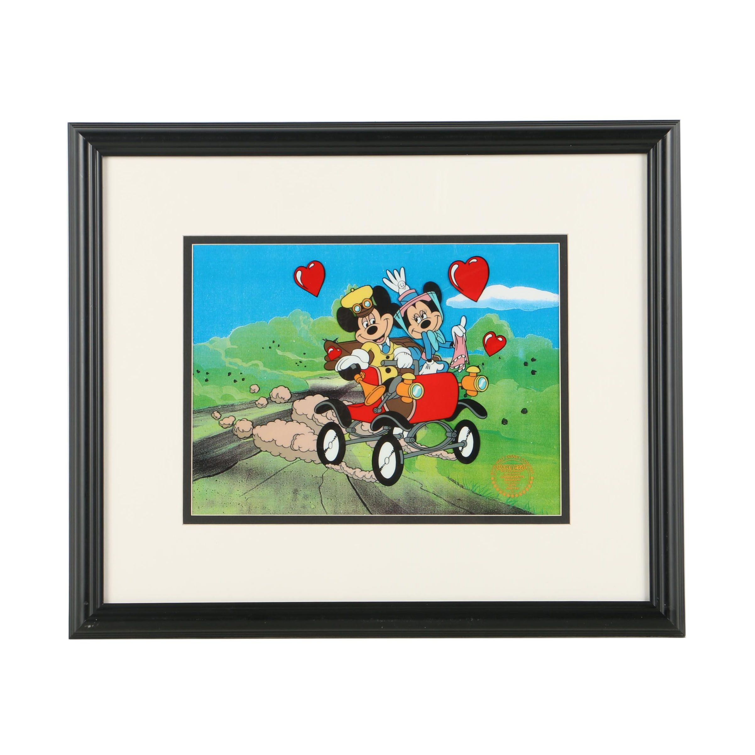 "Limited Edition Walt Disney Serigraph Cell ""Nifty Nineties"""