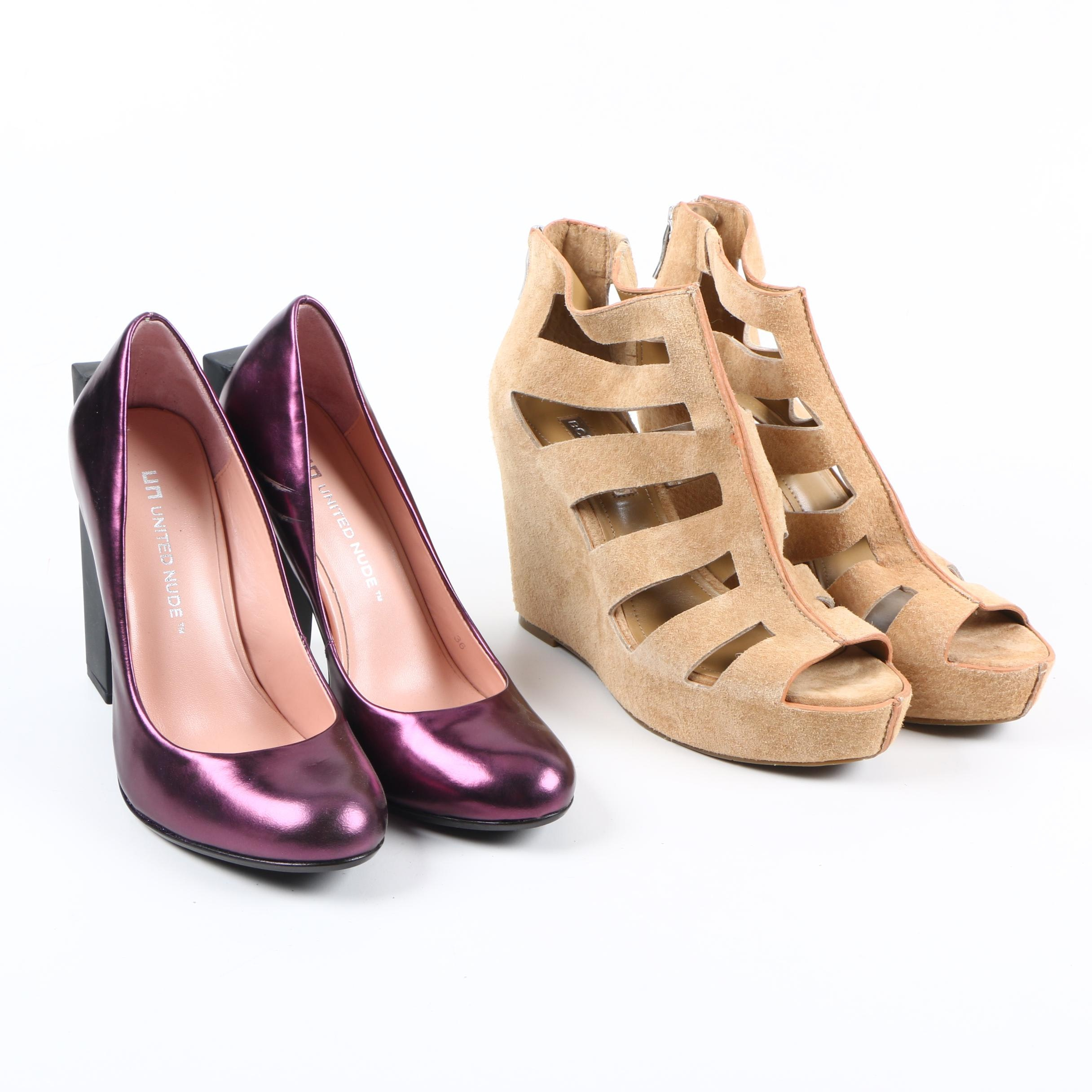 Women's Heels Including United Nude and BCBGeneration