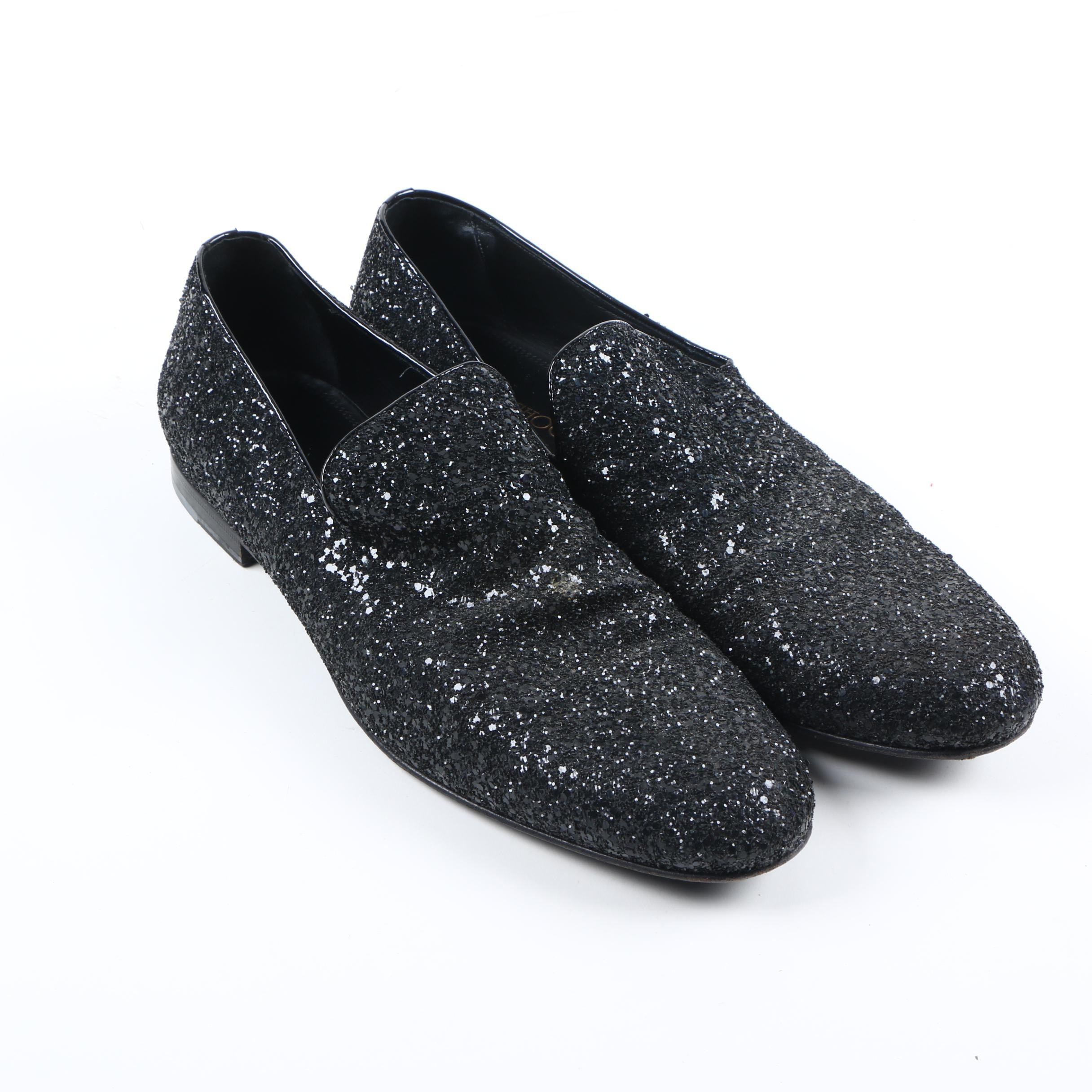 Men's Jimmy Choo Glitter Loafers
