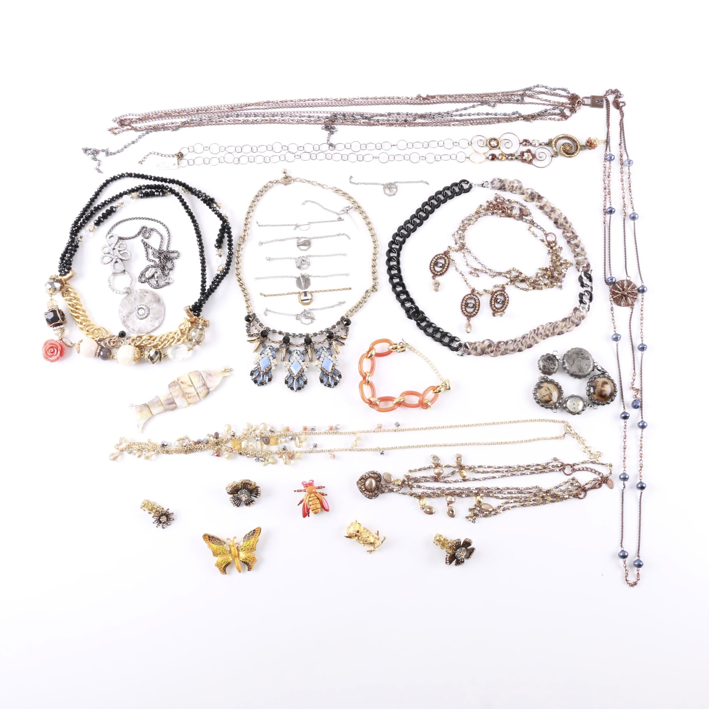 Assortment of Costume Jewelry Including Original by Robert