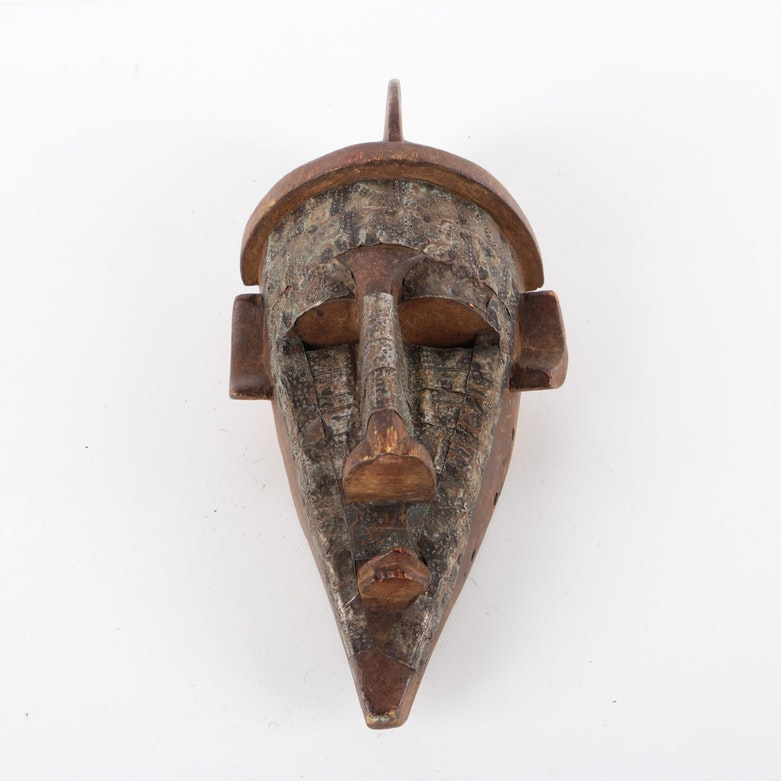 Marka Style Wood and Metal Mask