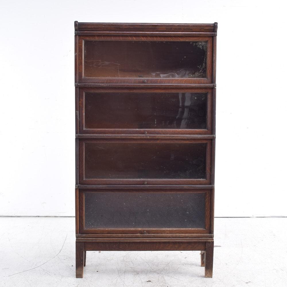 Globe-Wernicke Vintage Oak Barrister Bookcase