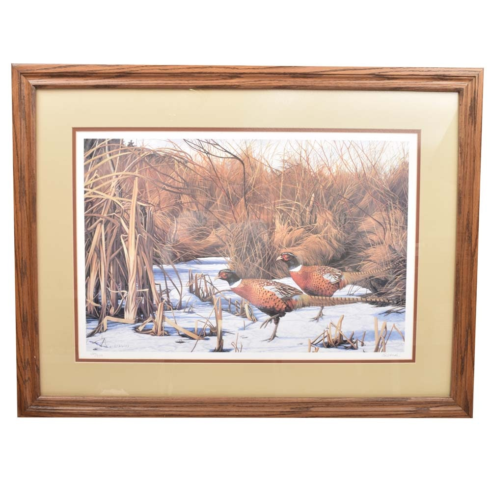 """Charlotte """"Ed"""" Wards Limited Edition Offset Lithograph"""