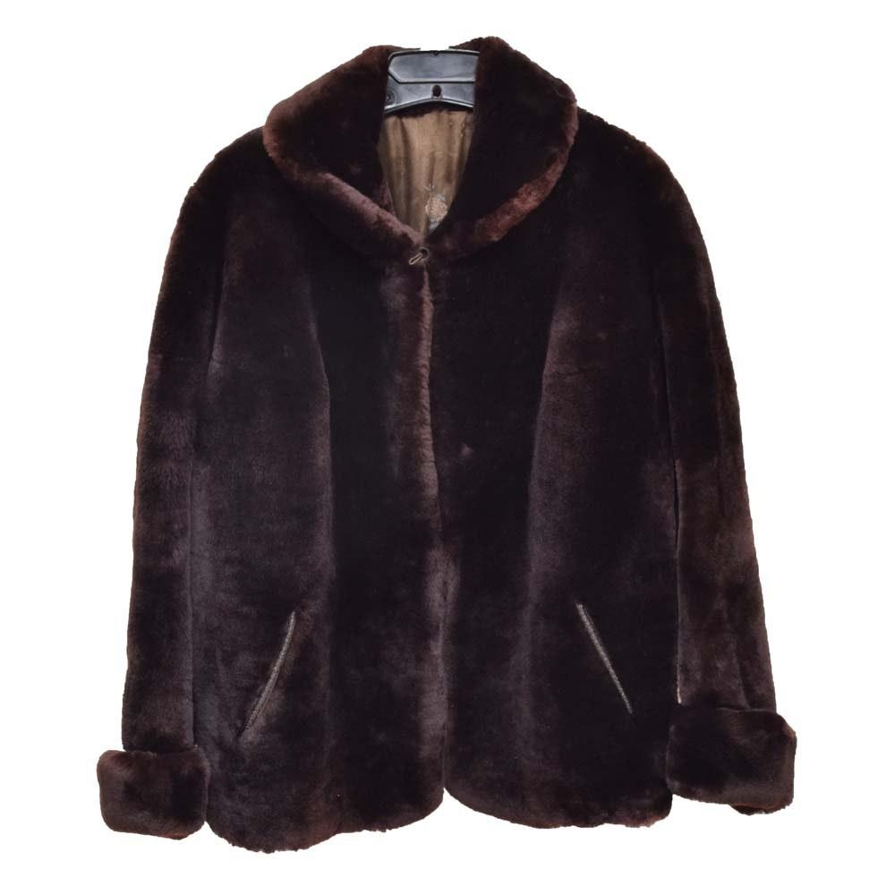 Vintage Sheared Mink Coat