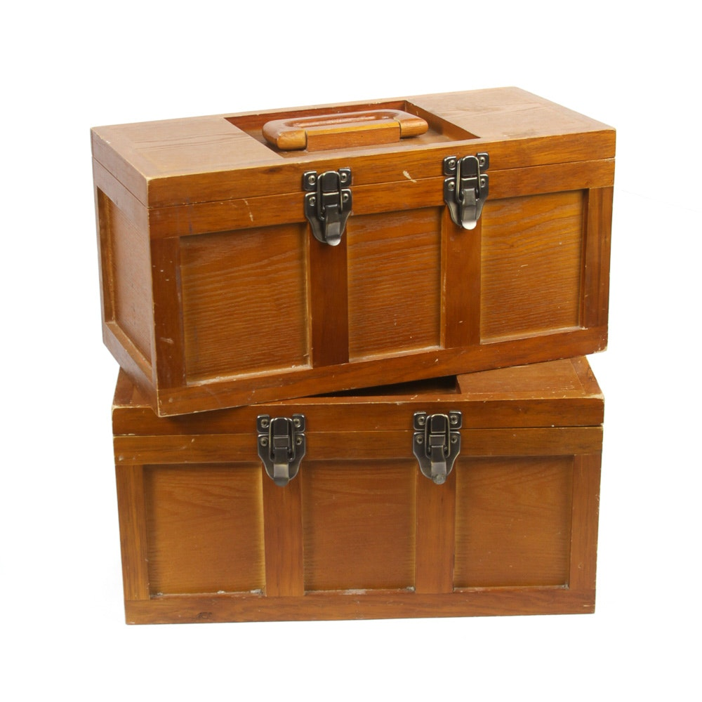 Wooden Storage Cases