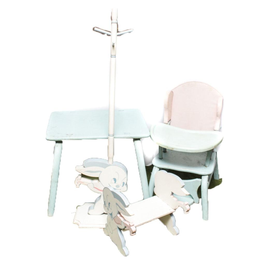 50's Era Children's Furniture Suite