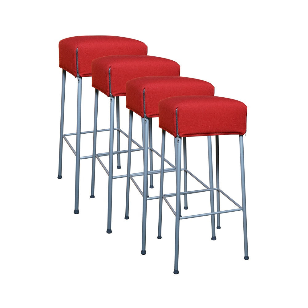 Contemporary Upholstered Stools by Montis
