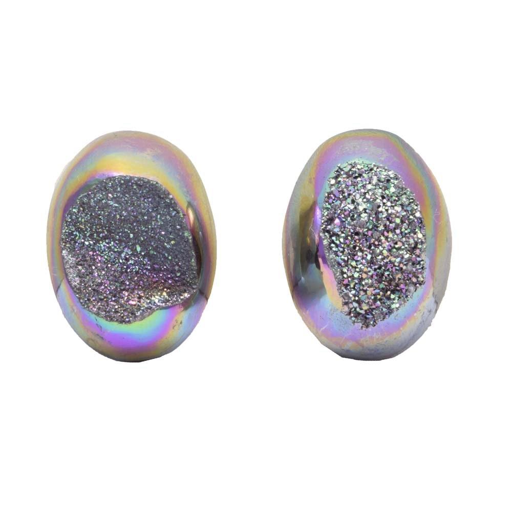 54.50 CTW Druzy Quartz Gemstones