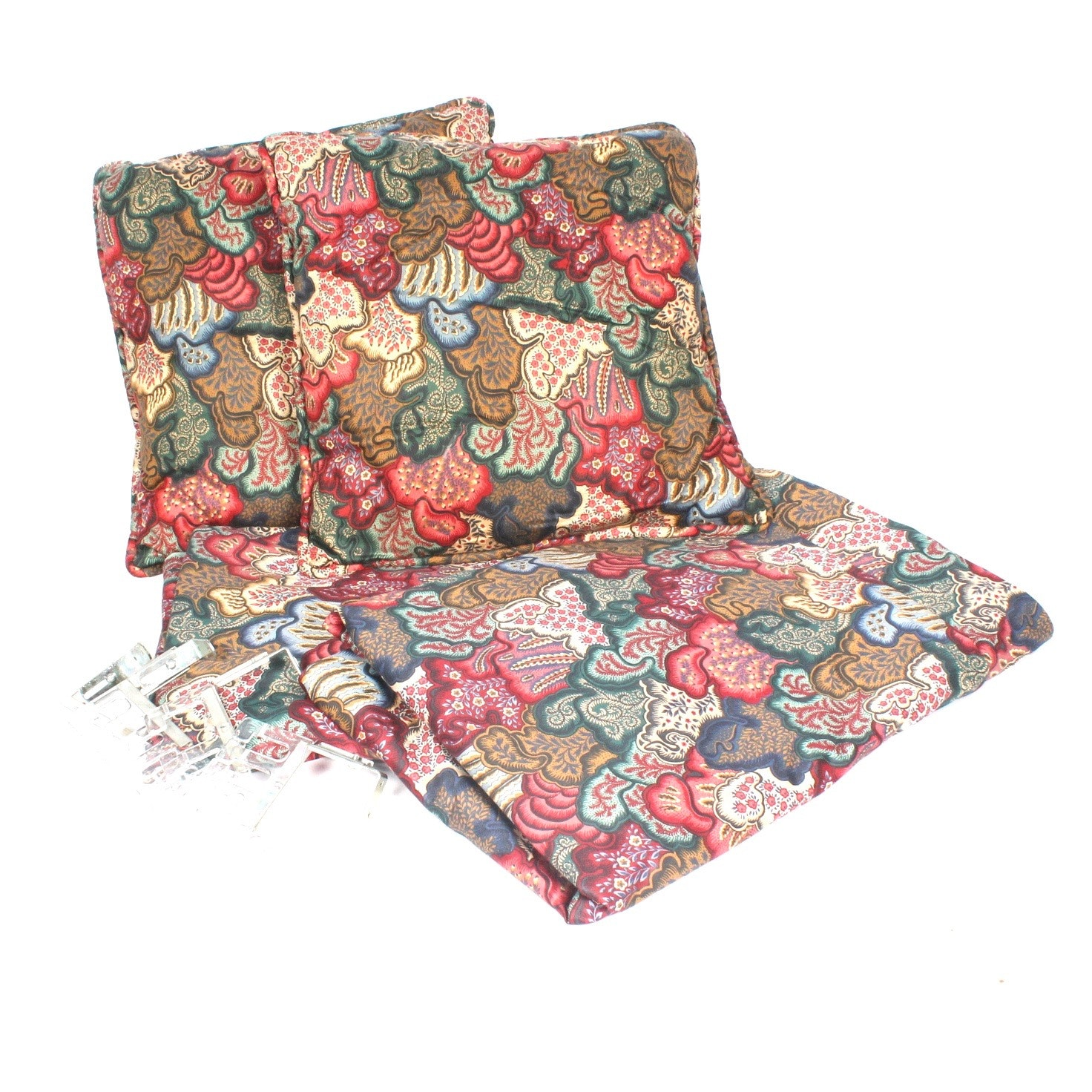 Long Curtain Panels and Throw Pillows