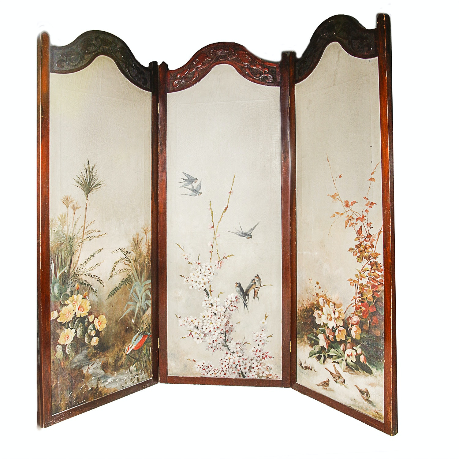 Vintage Decorative Screens Room Dividers and Room Partitions in Art
