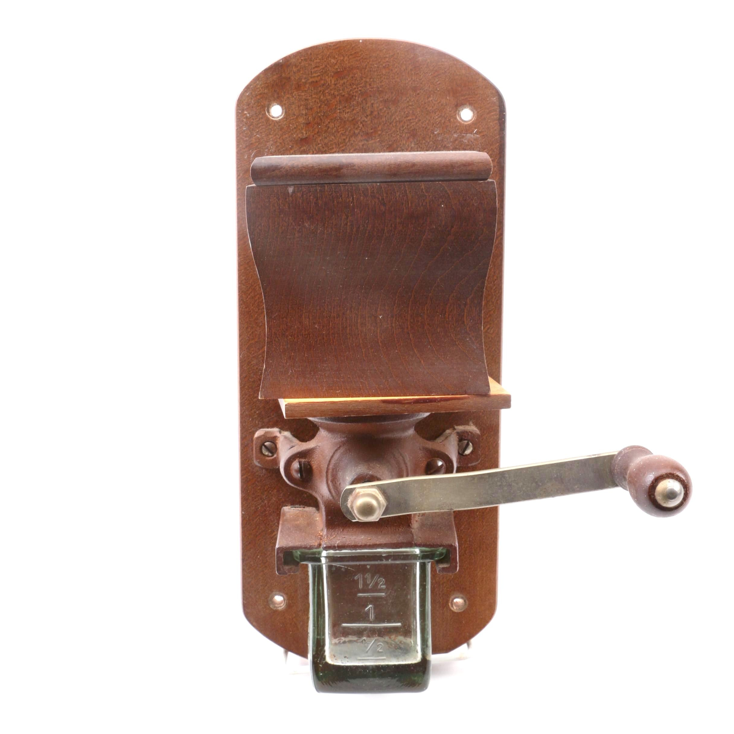 Vintage Wall Mounted Coffee Mill