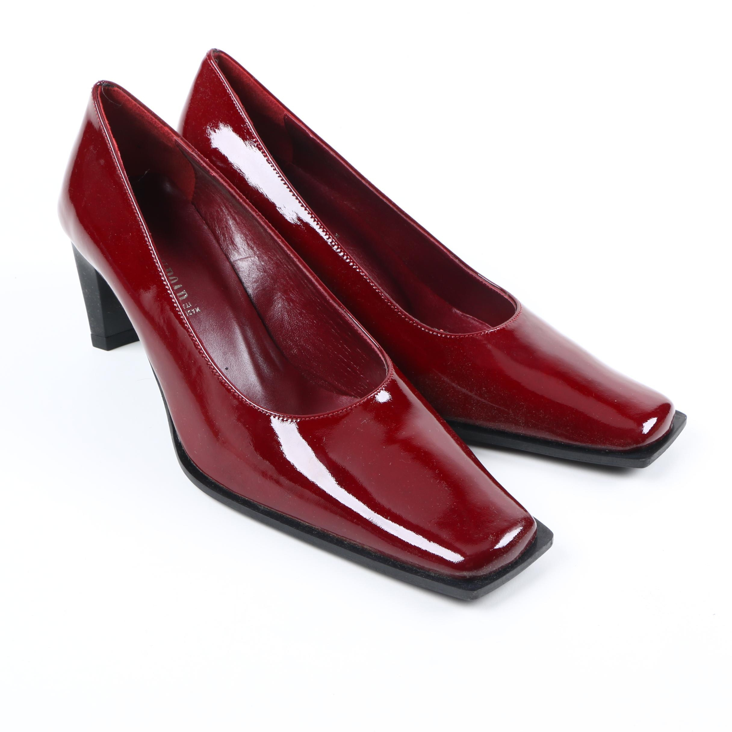 Country Road Red Patent Leather Pumps
