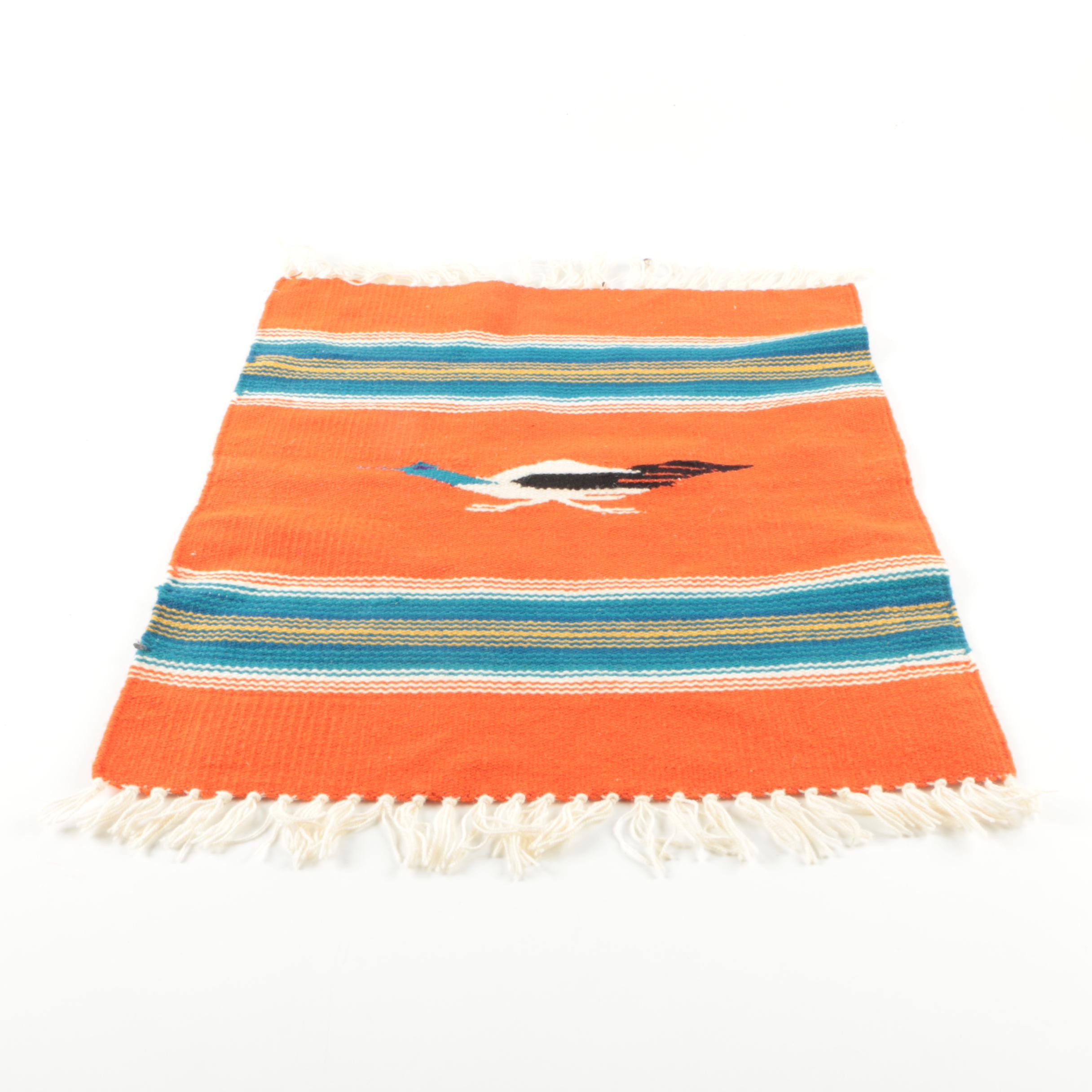Handwoven Mexican Style Wool Textile