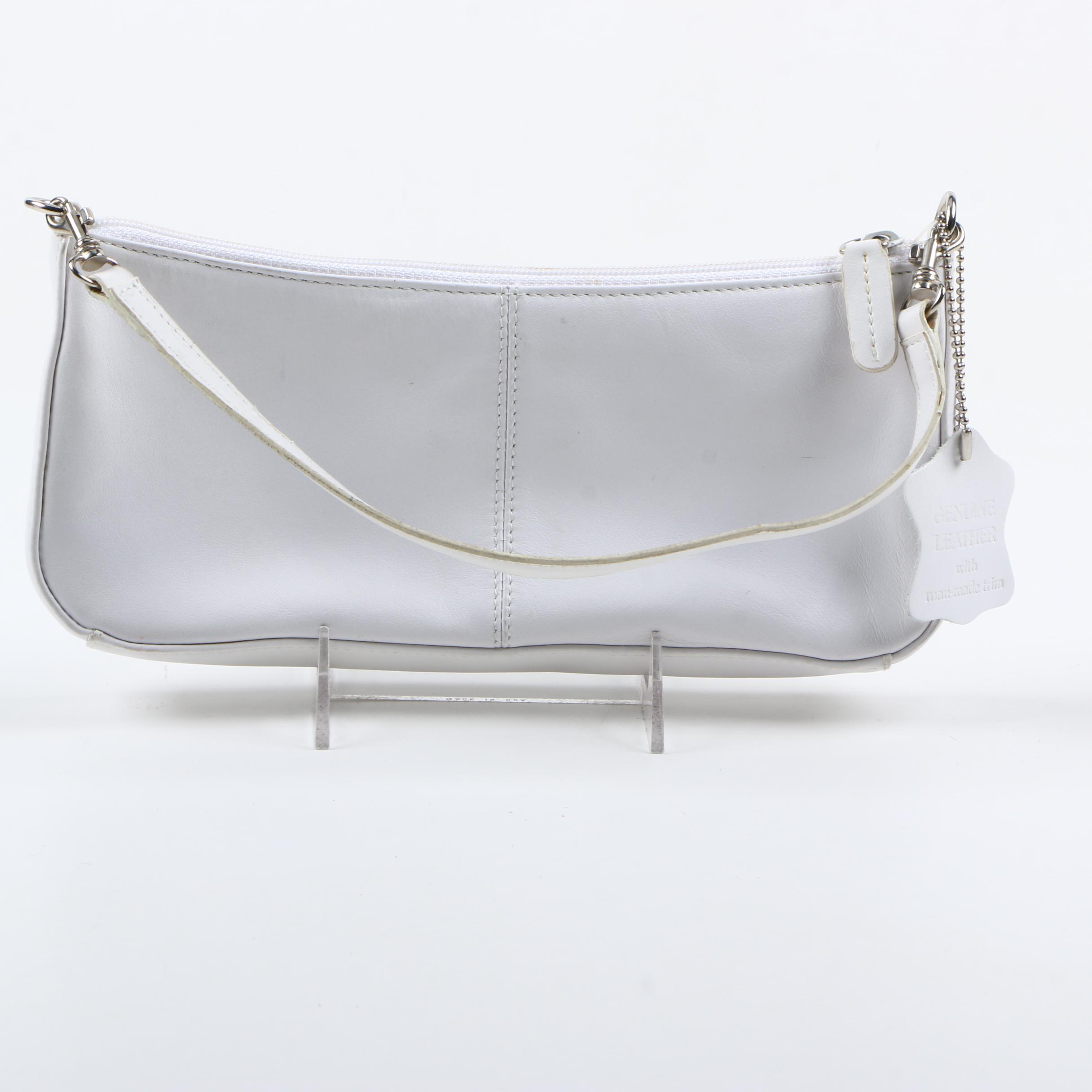Giani Bernini Leather Handbag and Zipper Wallet