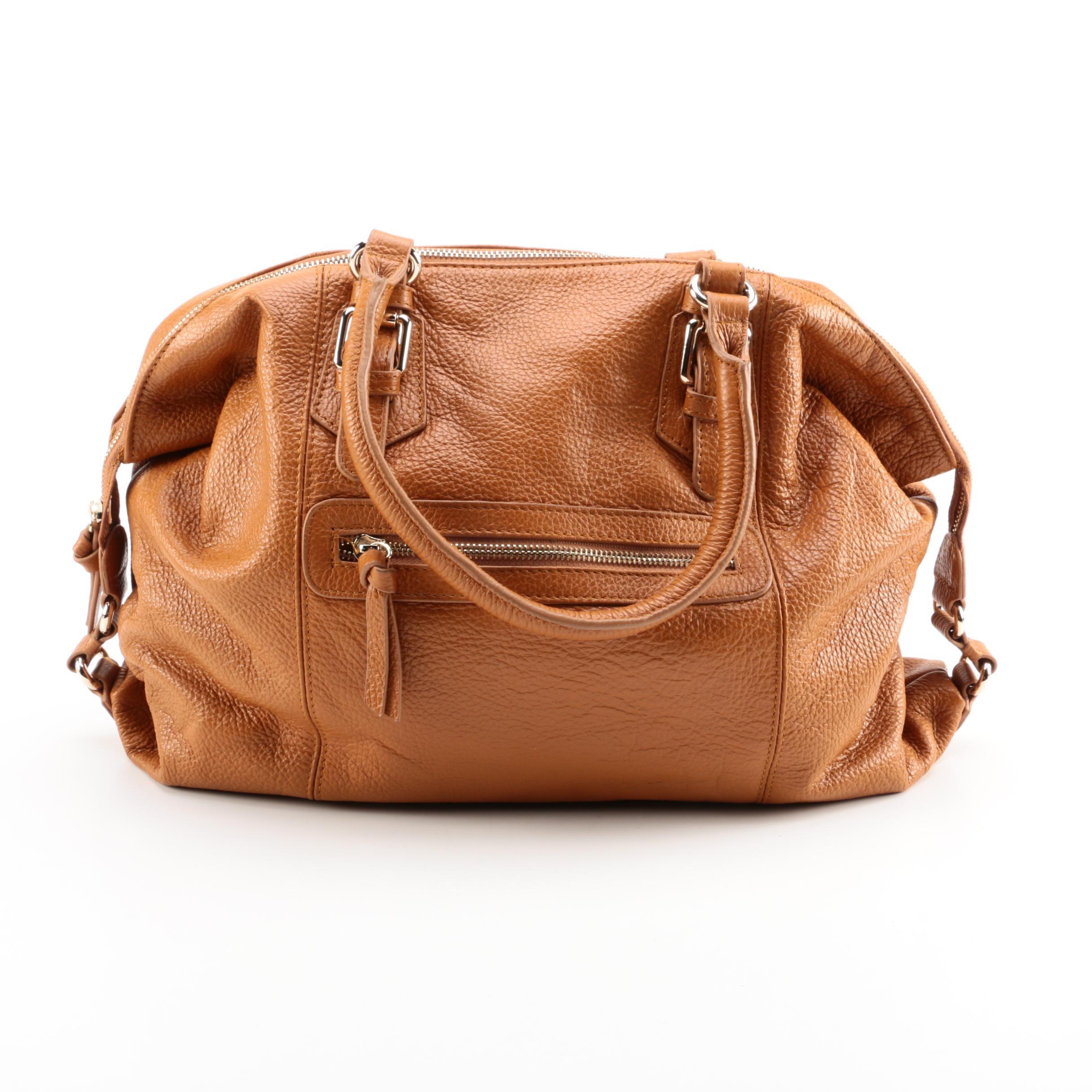 Cyrillus Leather Handbag