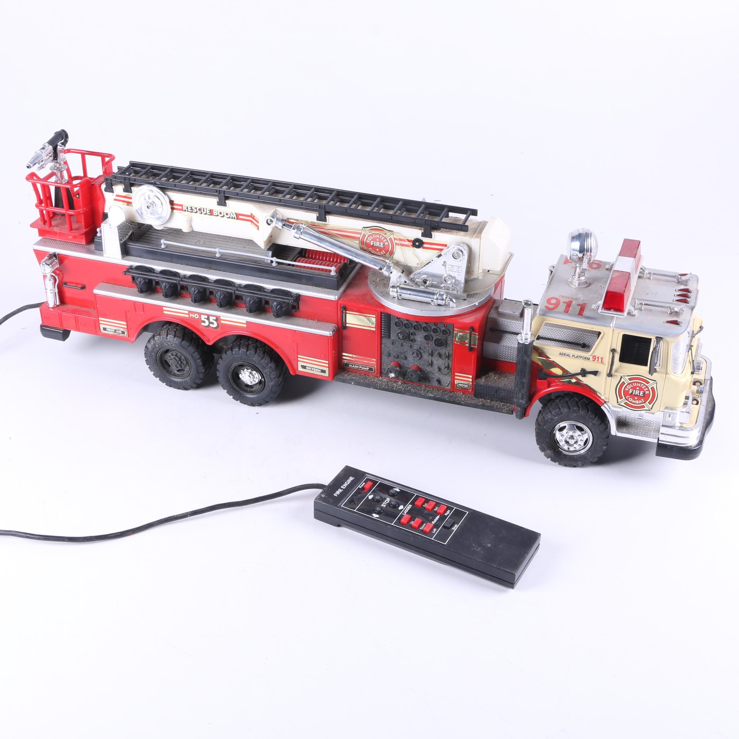 1988 New Bright Remote Control Fire Engine