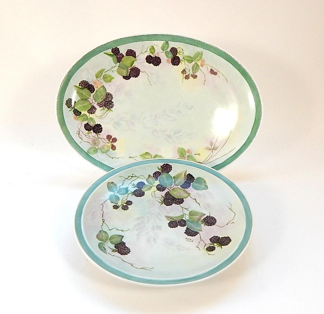 Dansk Blackberries Platters