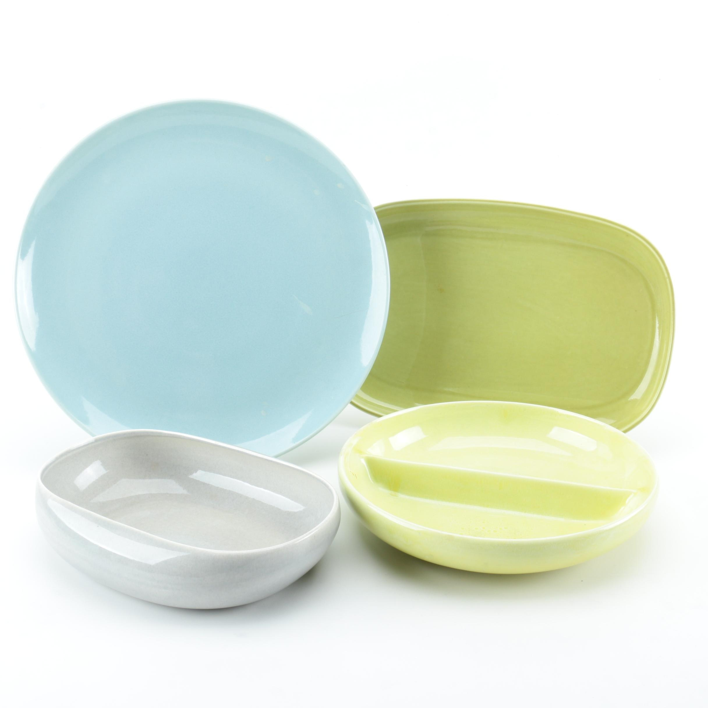 Mid Century Modern Russel Wright Ceramic Tableware Assortment