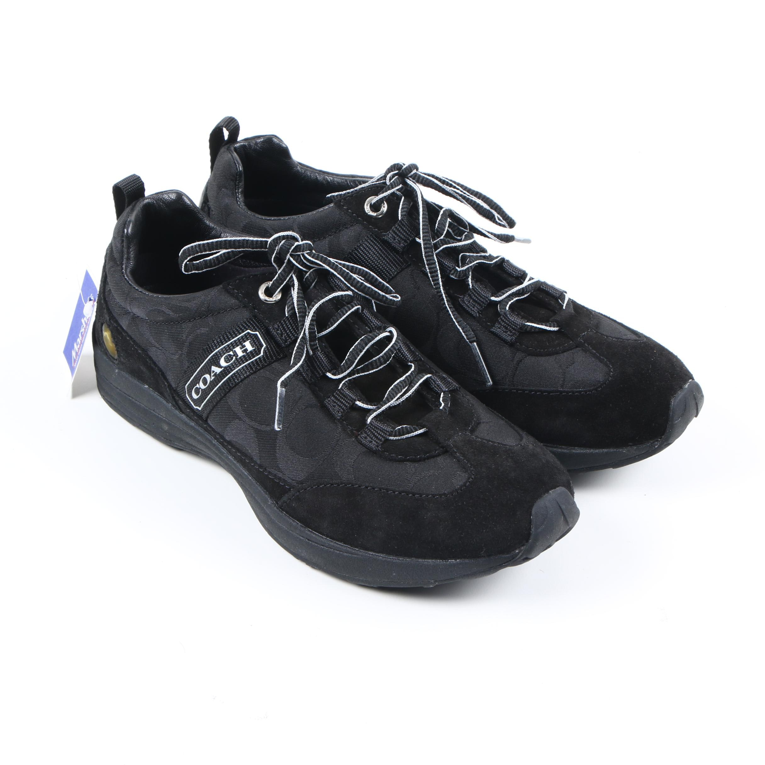 Women's Coach Maiya Black Sneakers