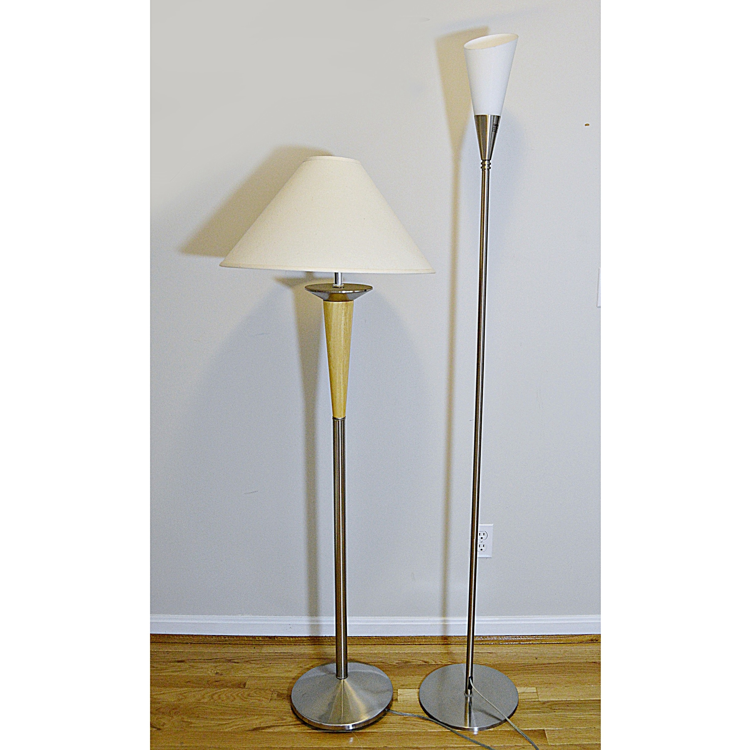 Contemporary Metal Floor Lamps