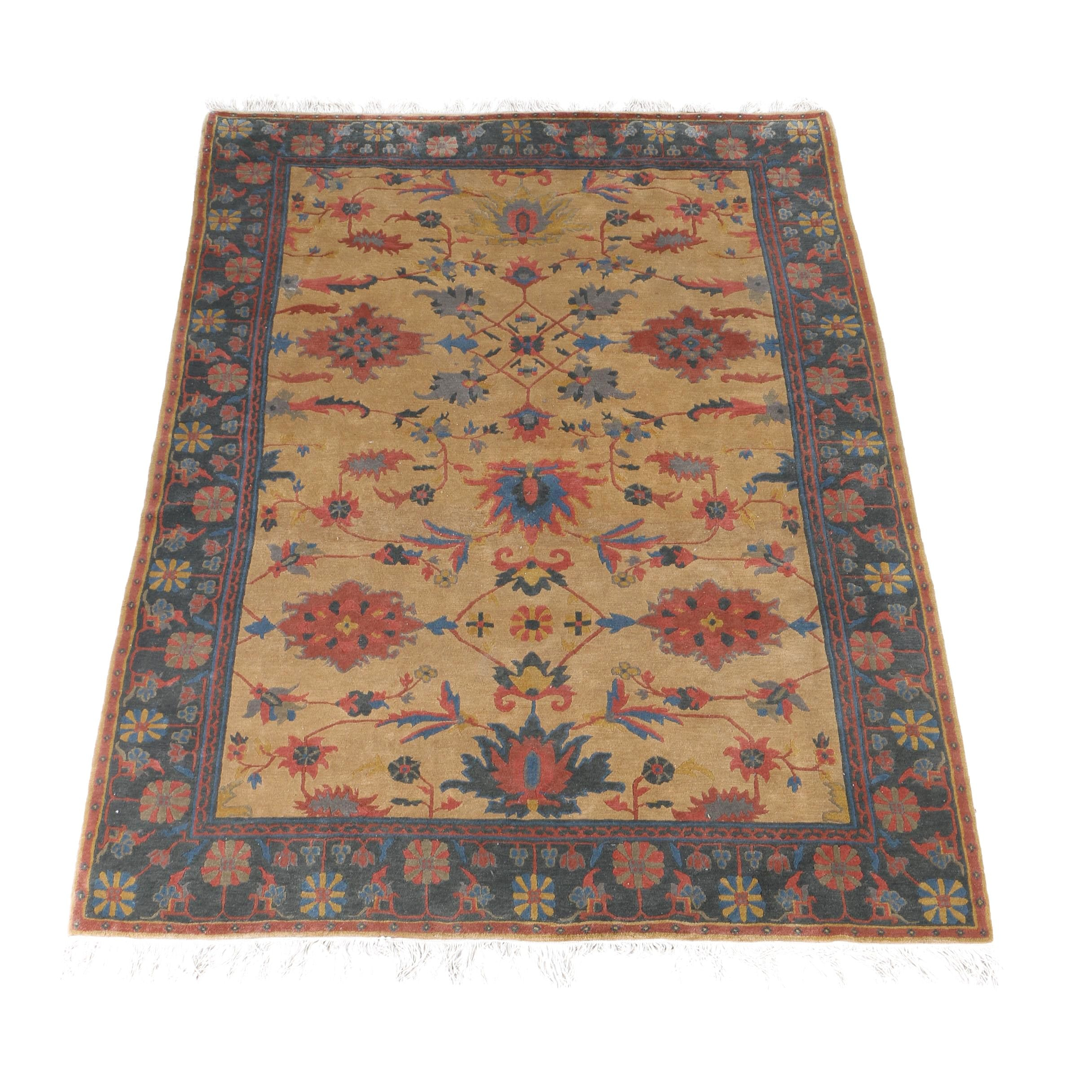 Hand-Knotted Tufenkian Persian-Inspired Tibetan Wool Area Rug