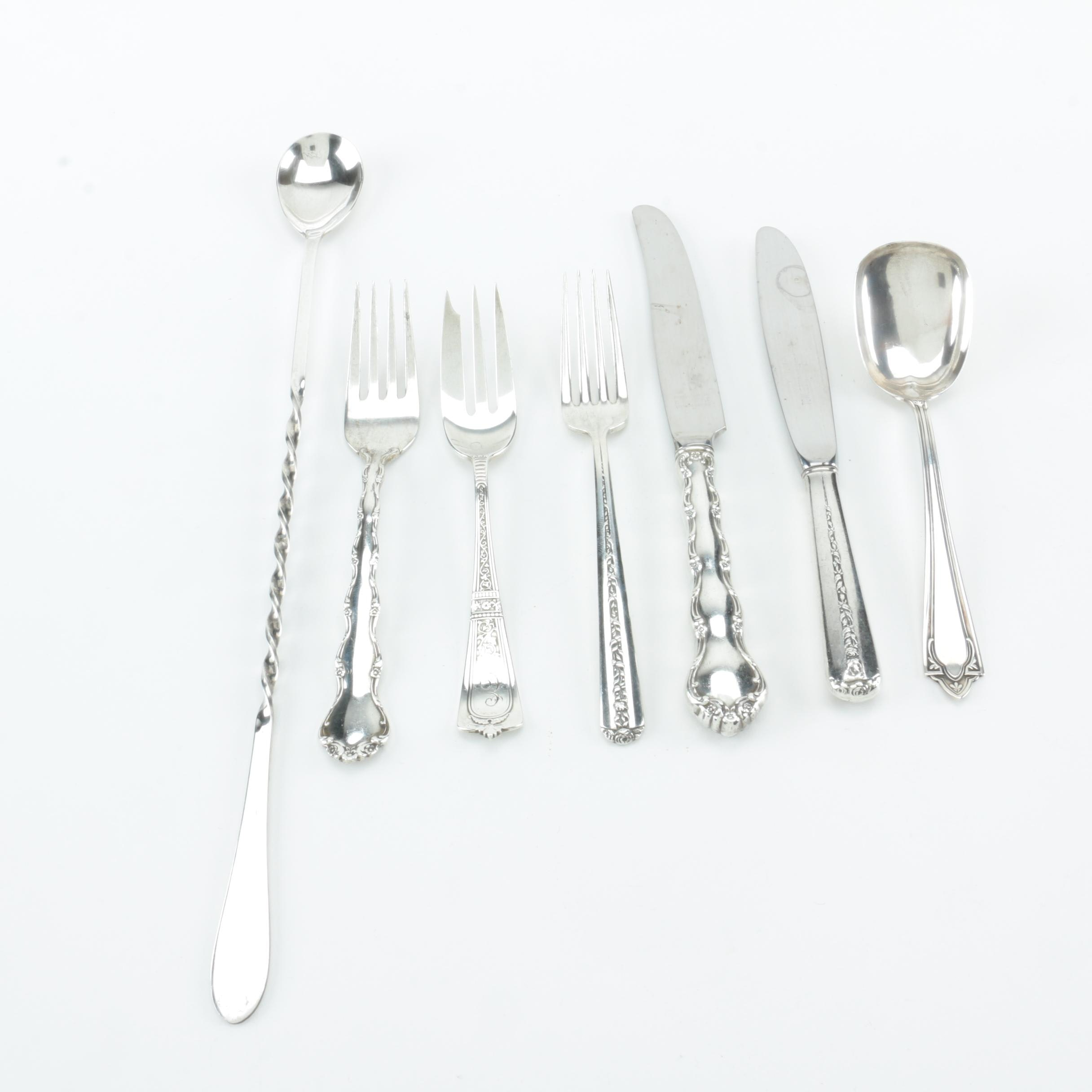 Gorham, Towle, and Other Sterling Silver Flatware