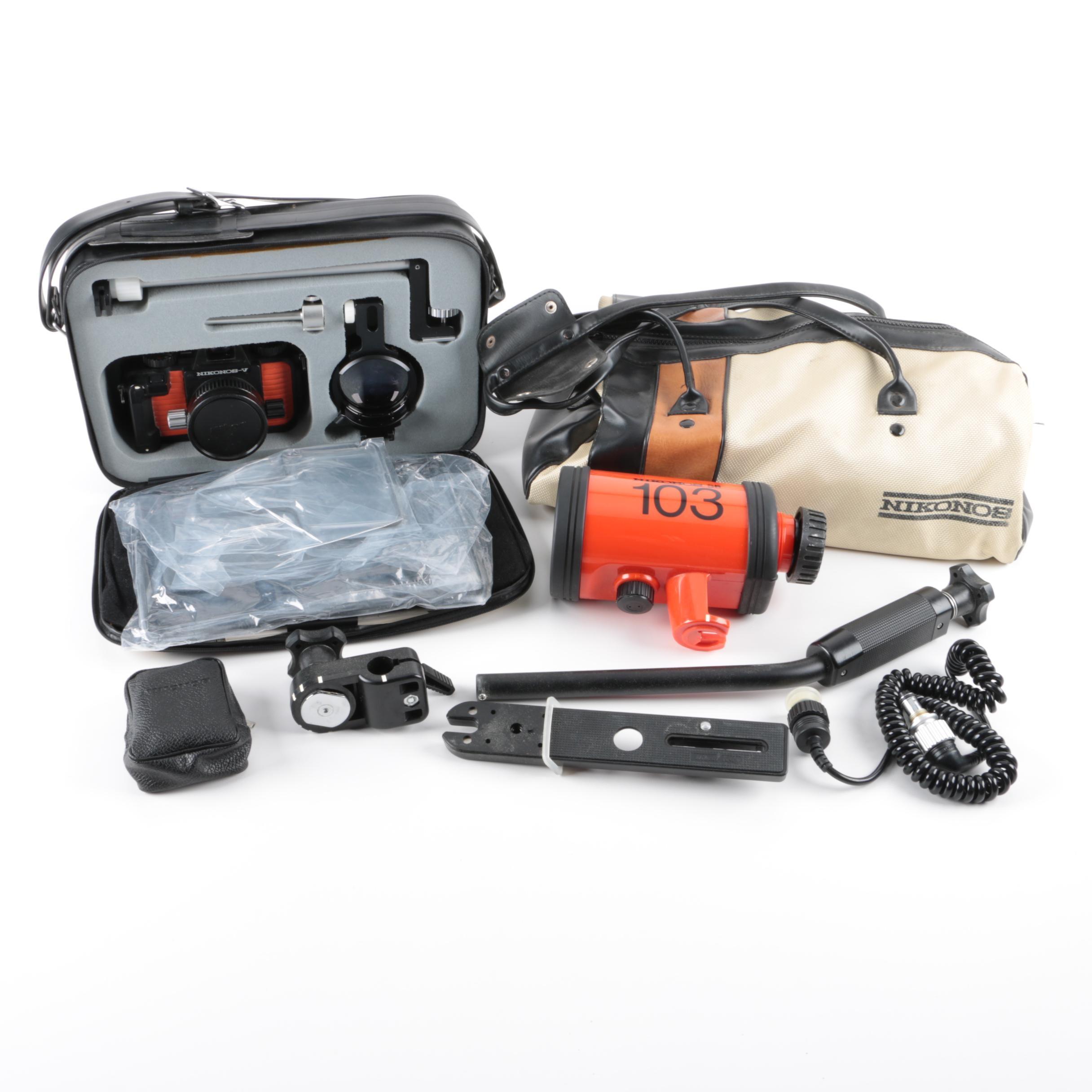 Nikon Nikonos Camera and Accessories