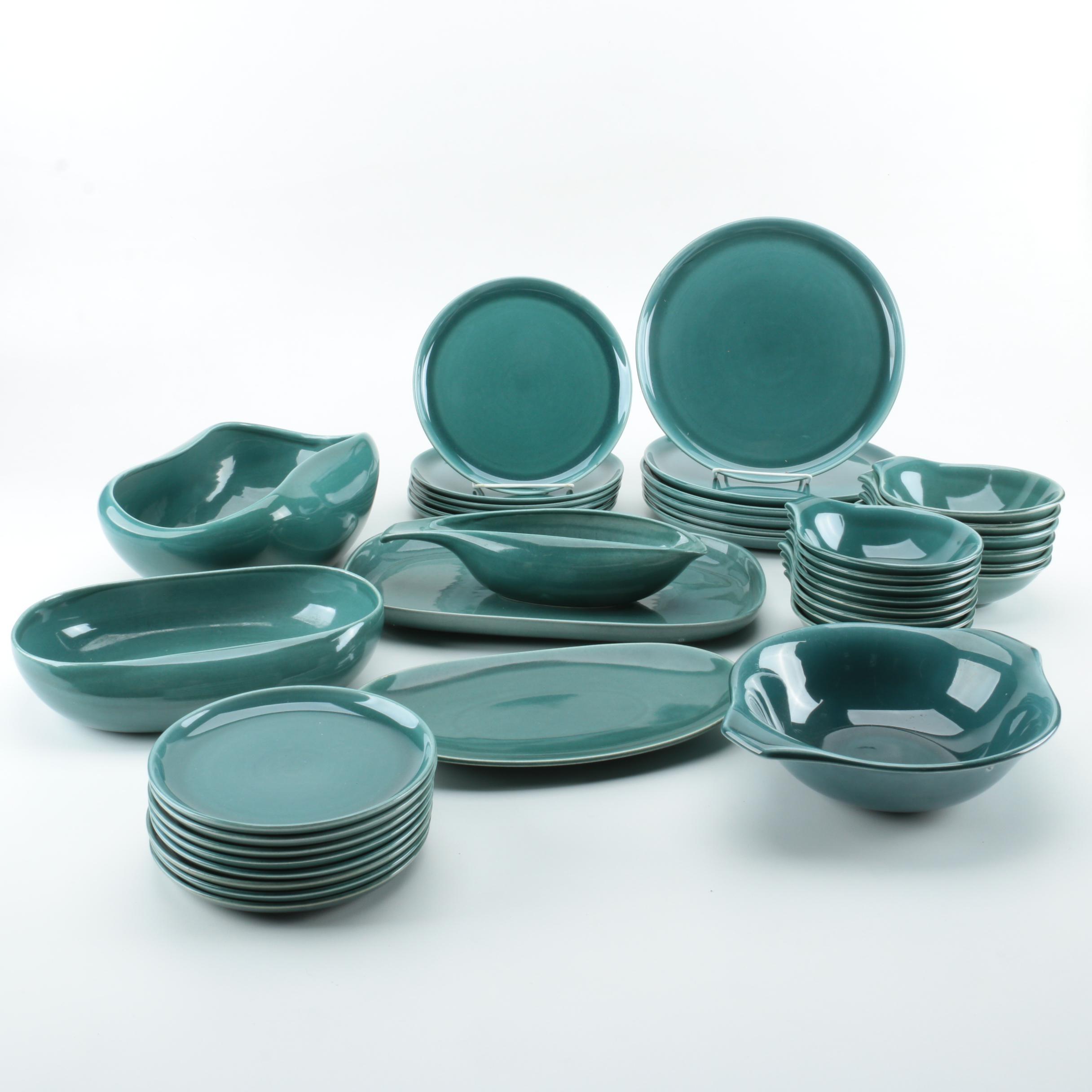 "Steubenville ""American Modern Seafoam Green"" Russel Wright Tableware"