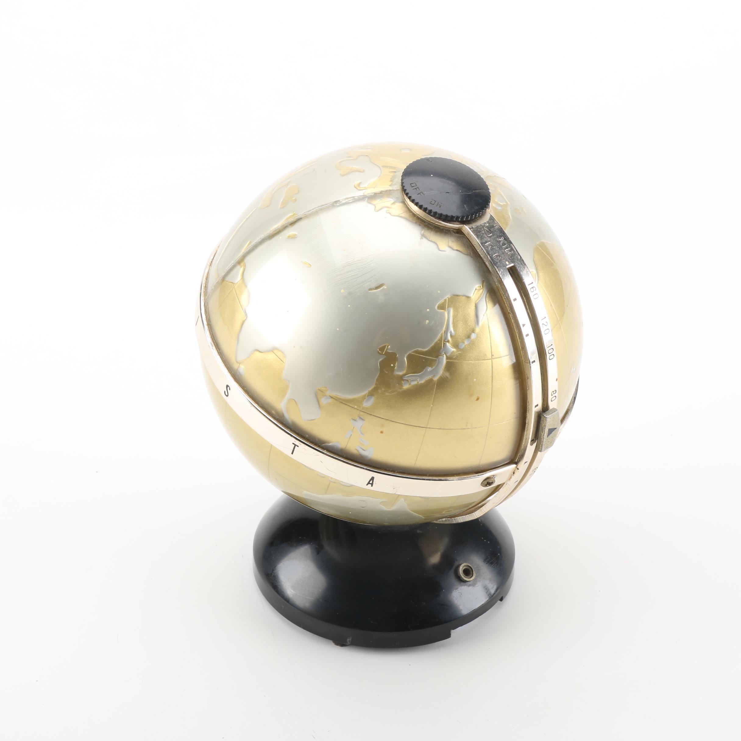 Vintage Vista Globe Radio