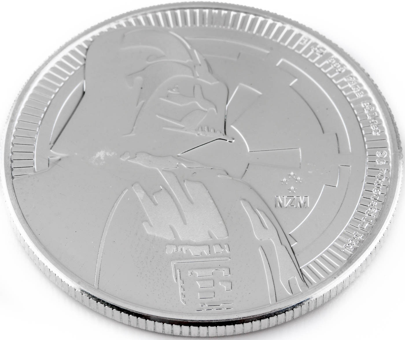 2017 NIUE $2 Silver Darth Vader Coin