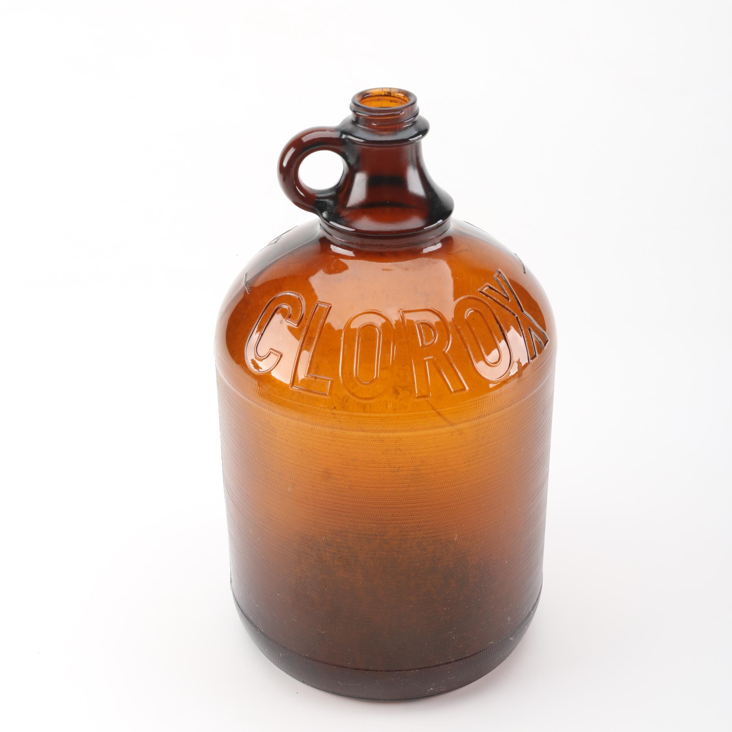 Clorox Glass Bottle