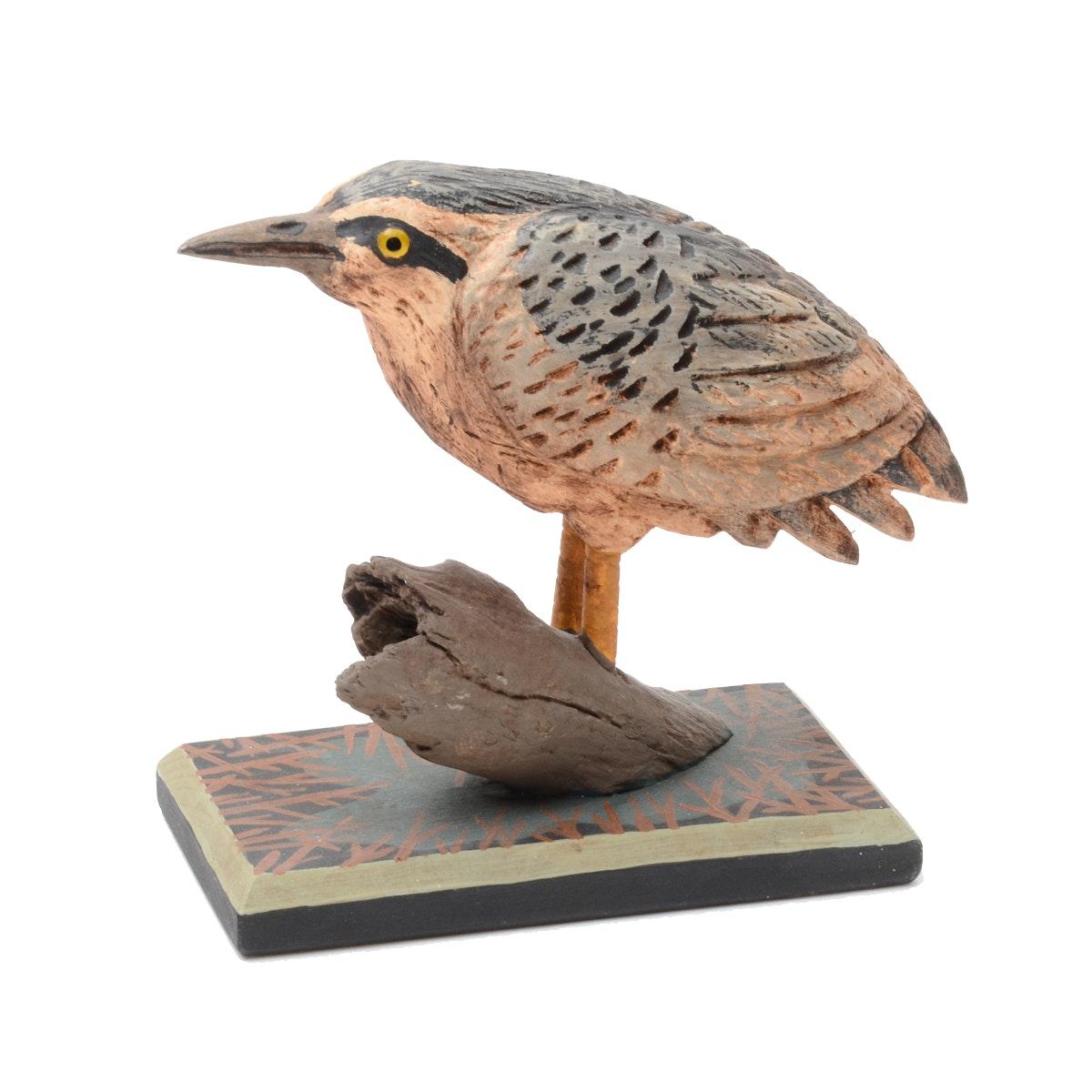 G. Voyzey Signed Folk Art Bird