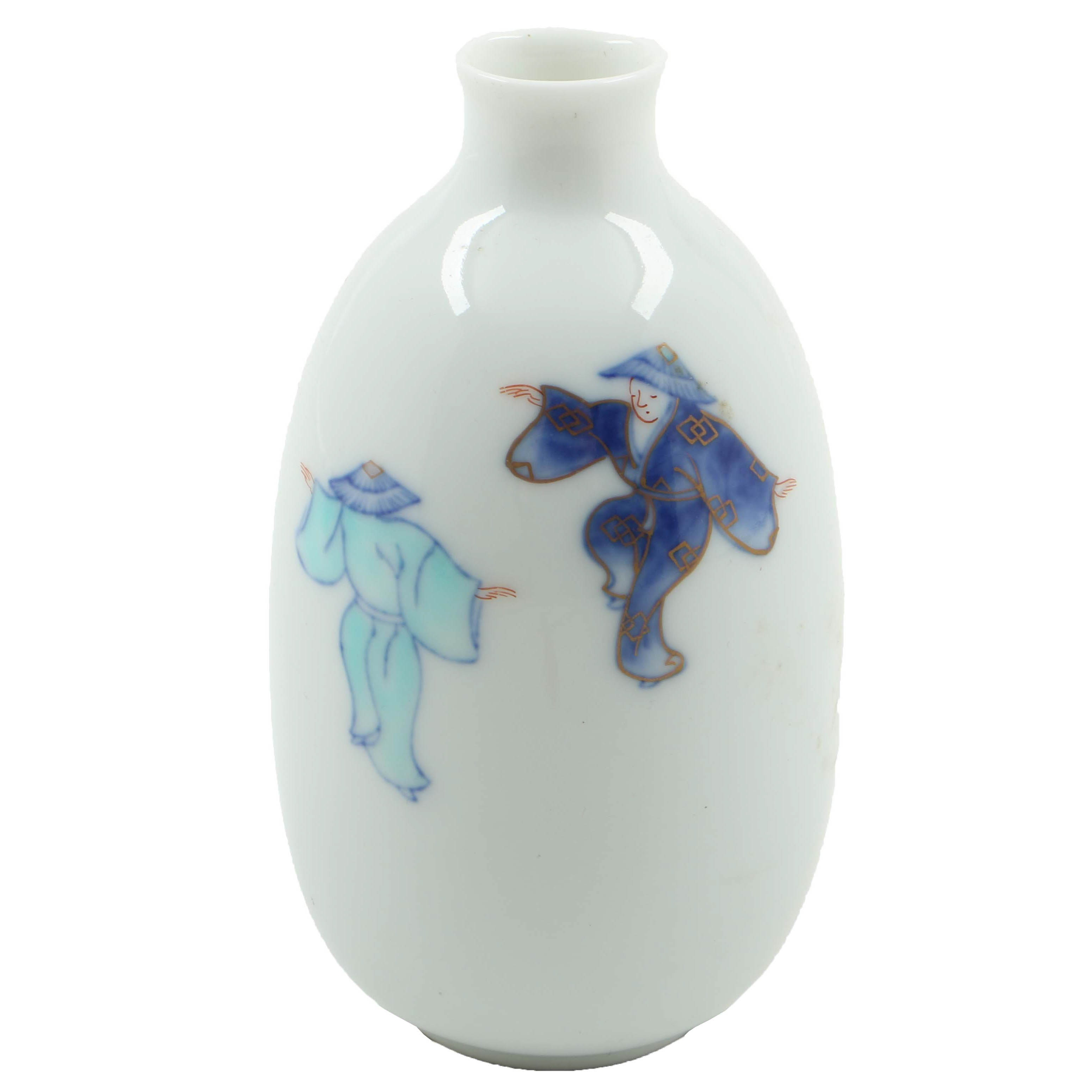 Hand-Painted Porcelain Chinese Vase